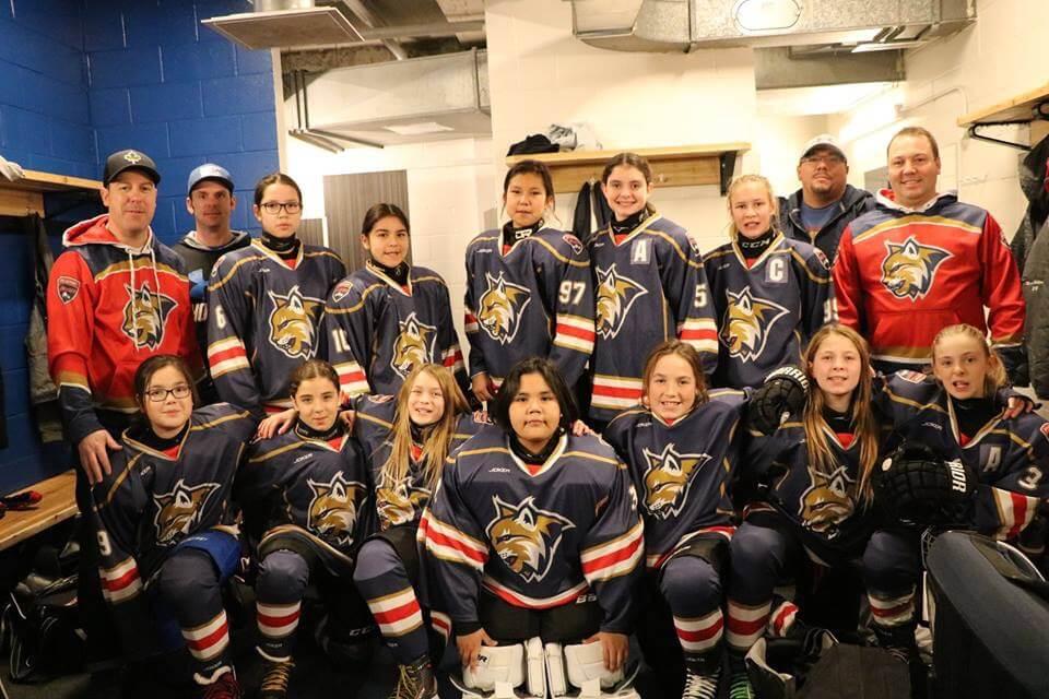 Hockey féminin pee-wee Lynx