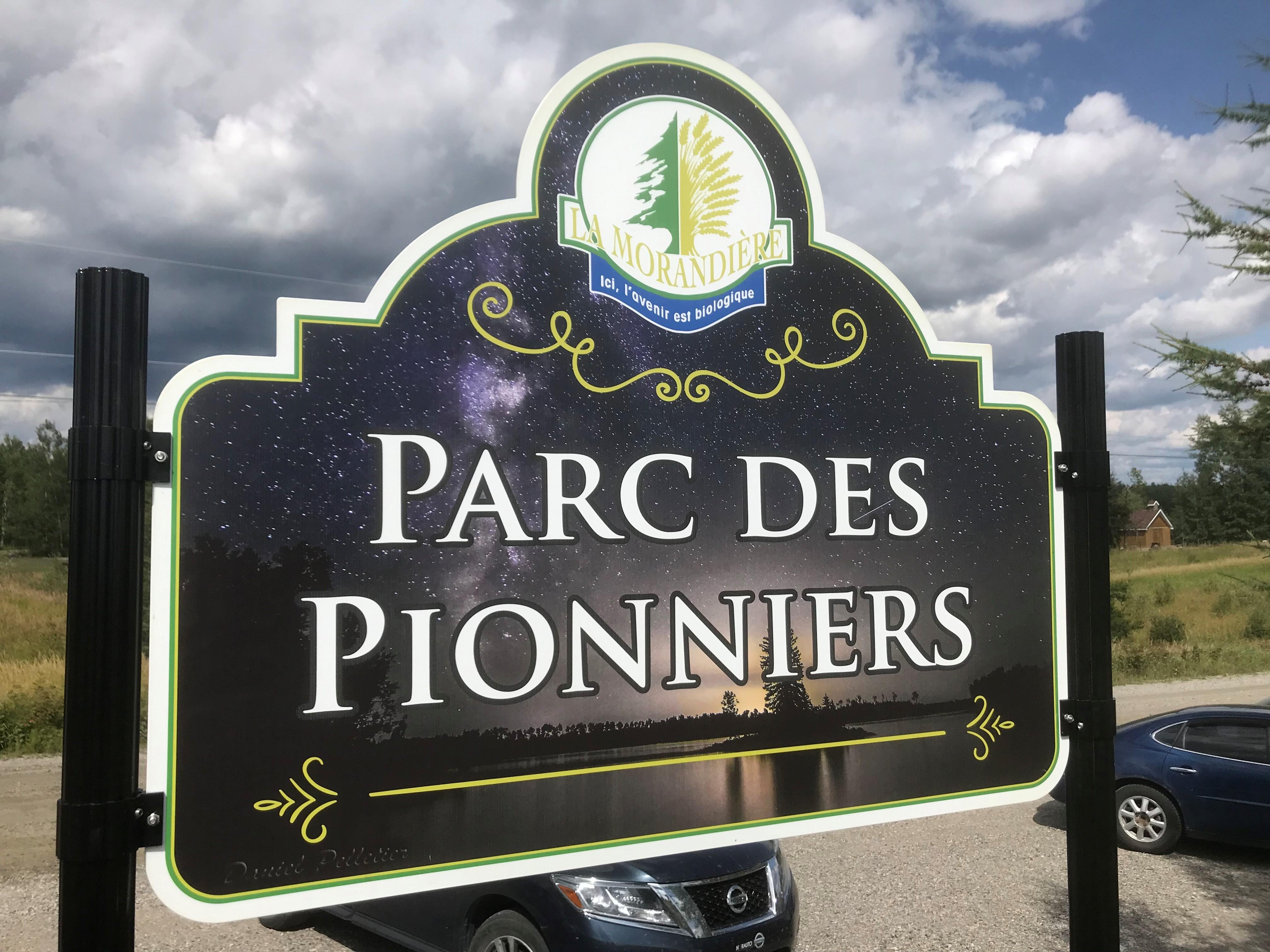 Parc Pionniers La Morandière Affiche