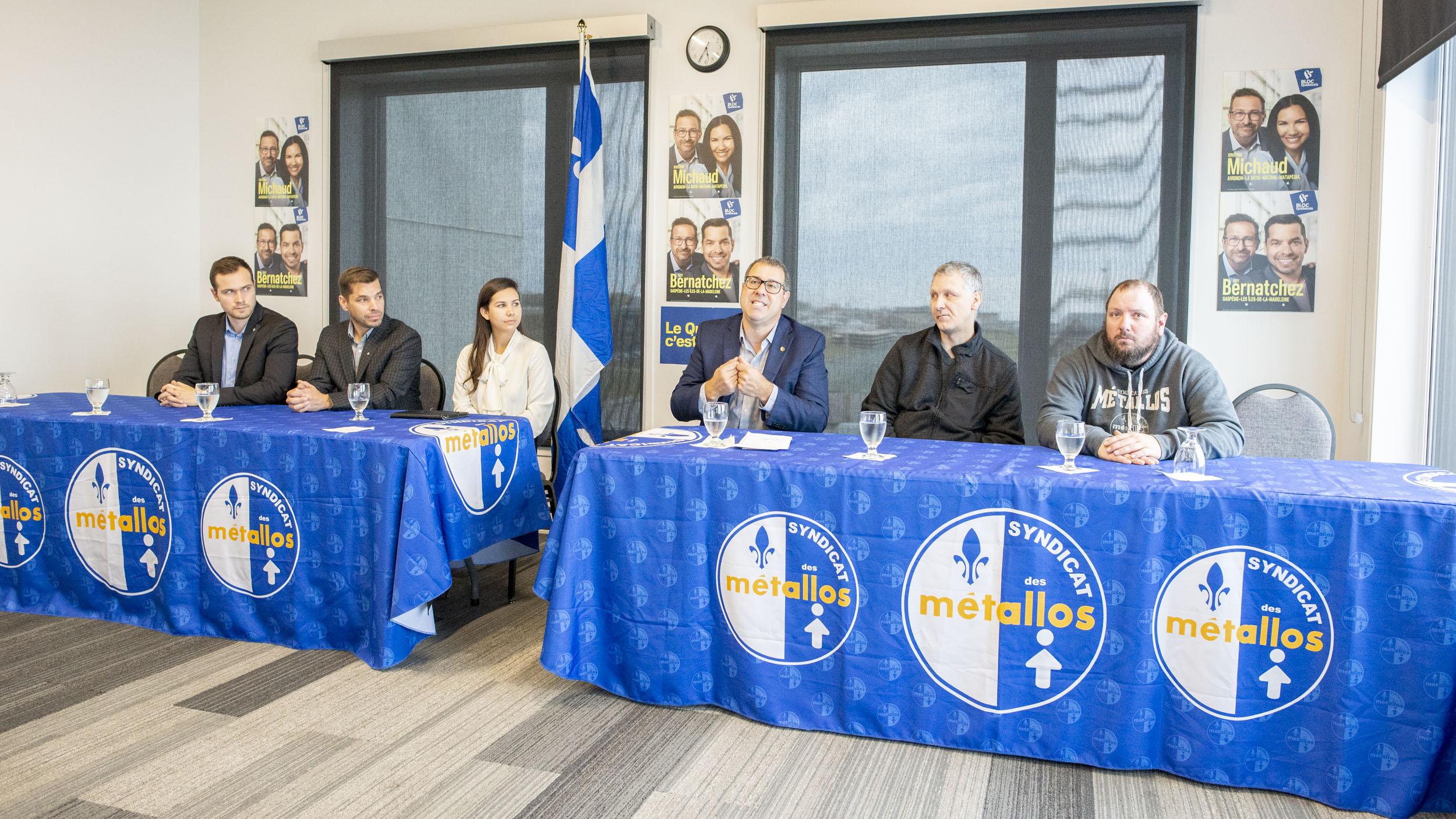 Soutien syndicat métallos Est-du-Québec