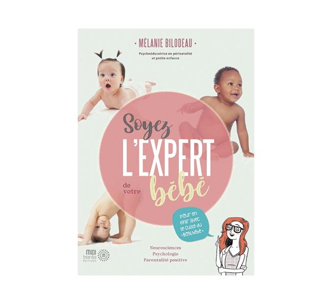 Livre soyez l'expert bébé
