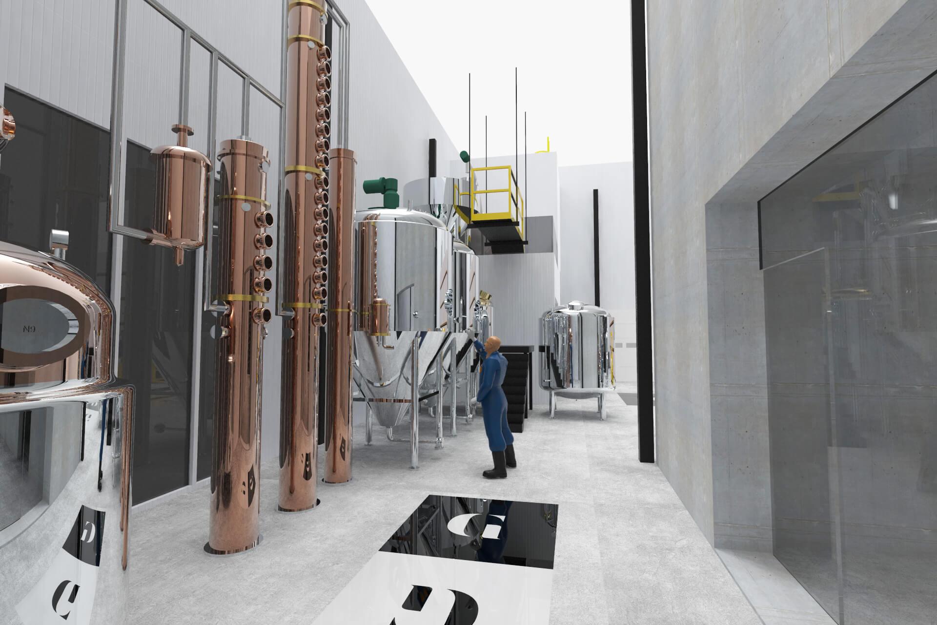 Plan microdistillierie