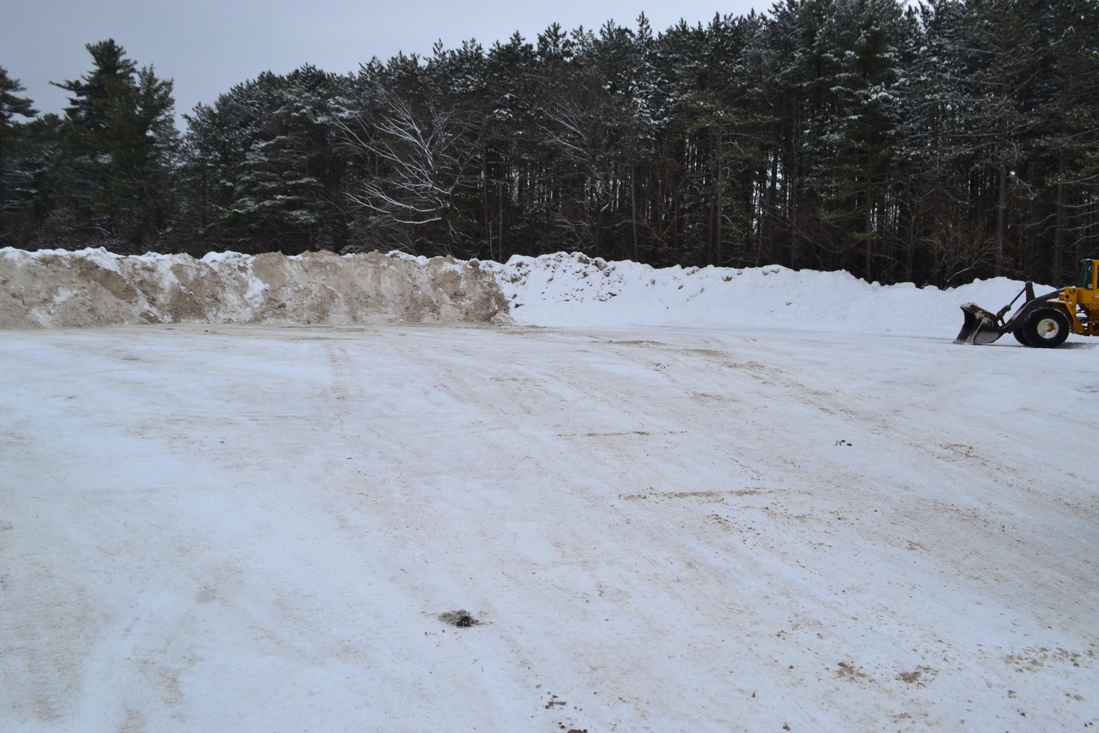 Dépôt à neige Papineauville