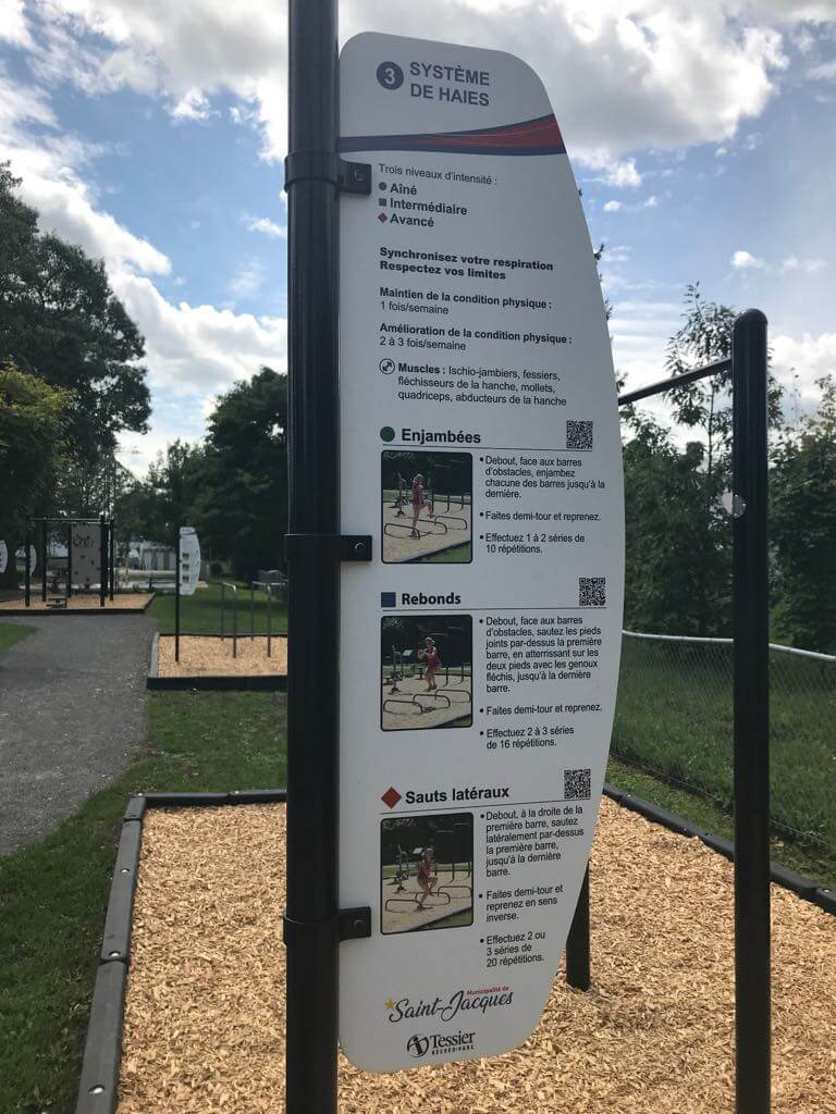 Parcours-Santé à Saint-Jacques
