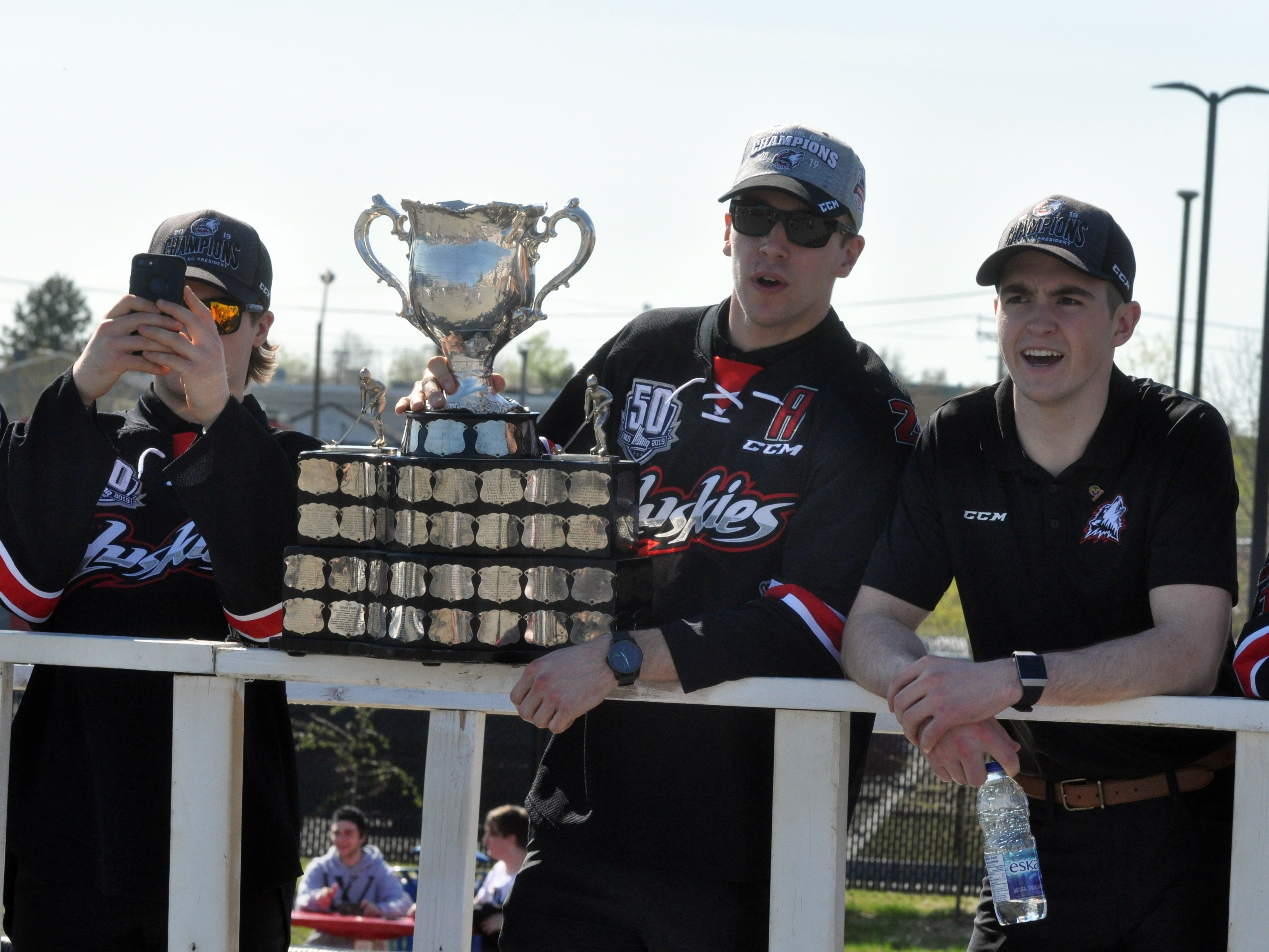 Huskies Rouyn-Noranda Coupe du President Coupe Memorial