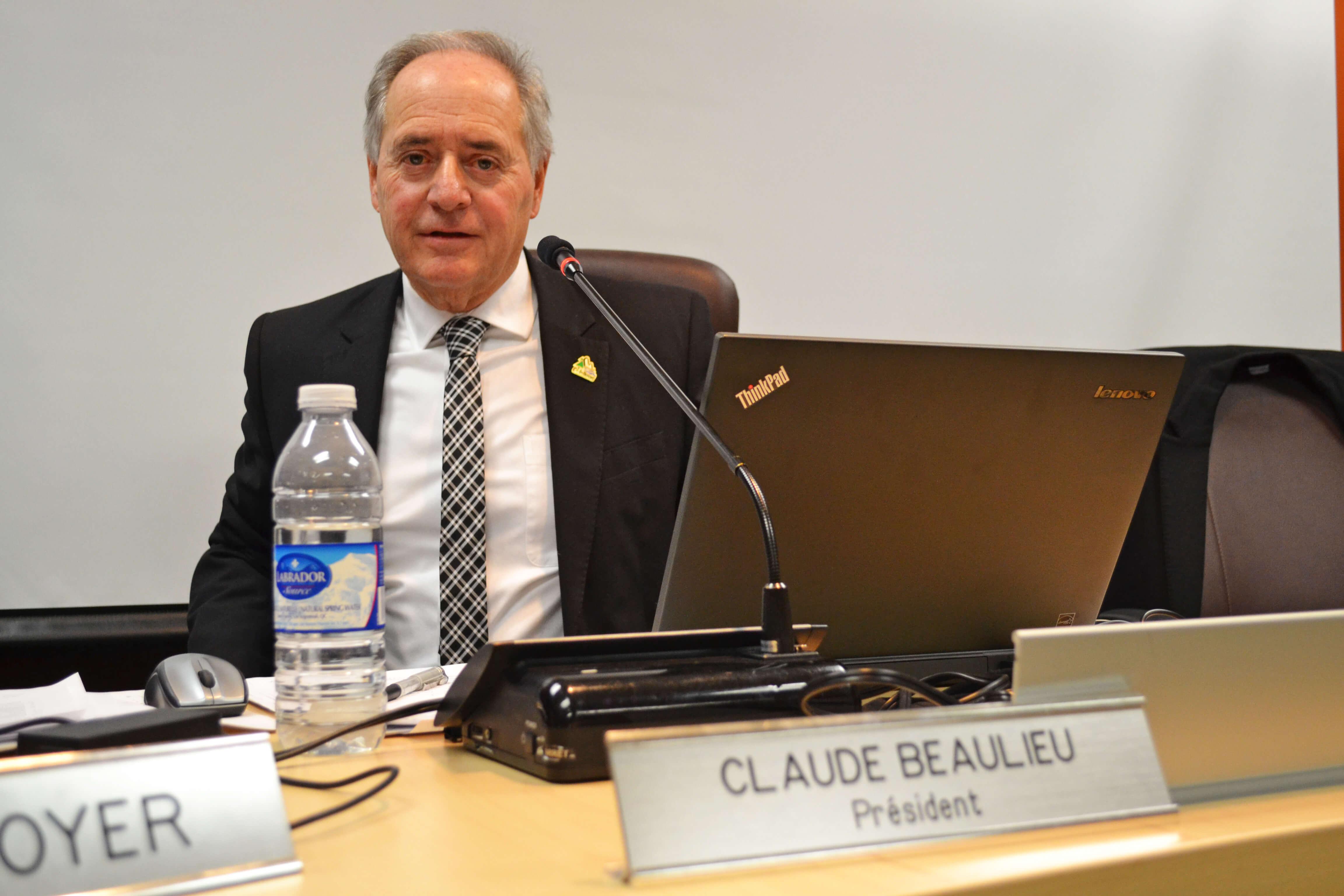 Claude Beaulieu CSD