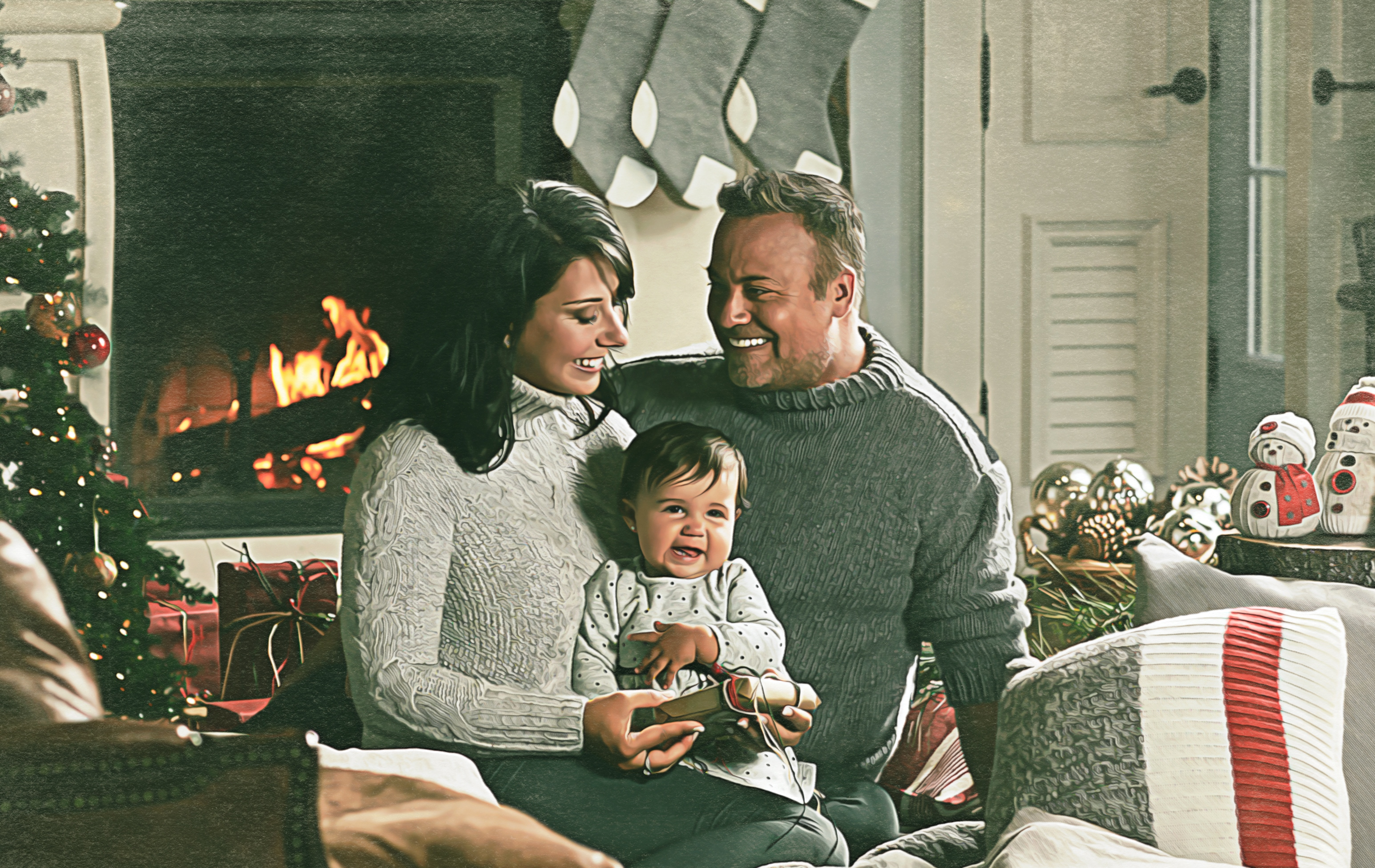 Noël à trois