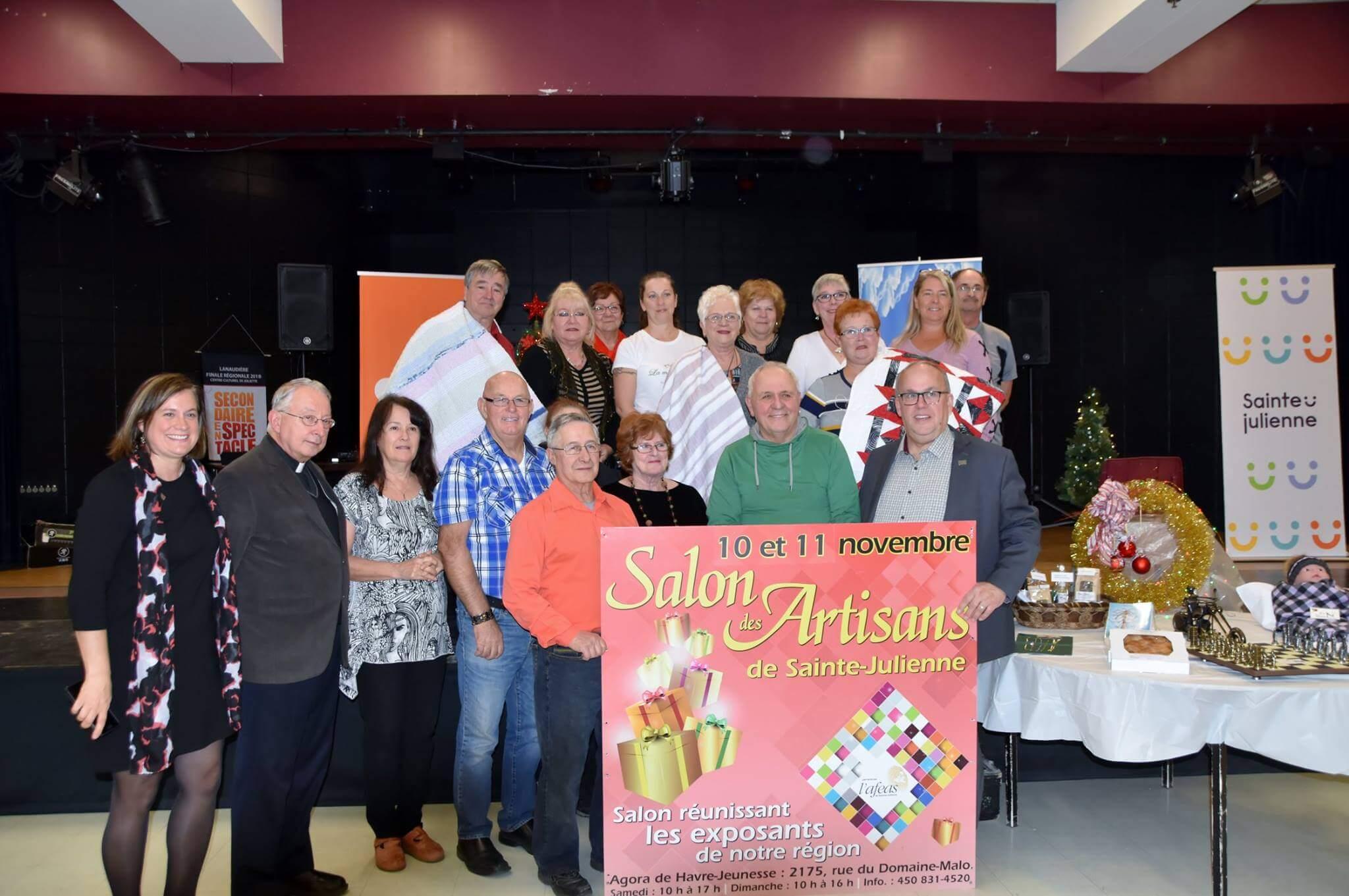 Salon des Artisans à Sainte-Julienne
