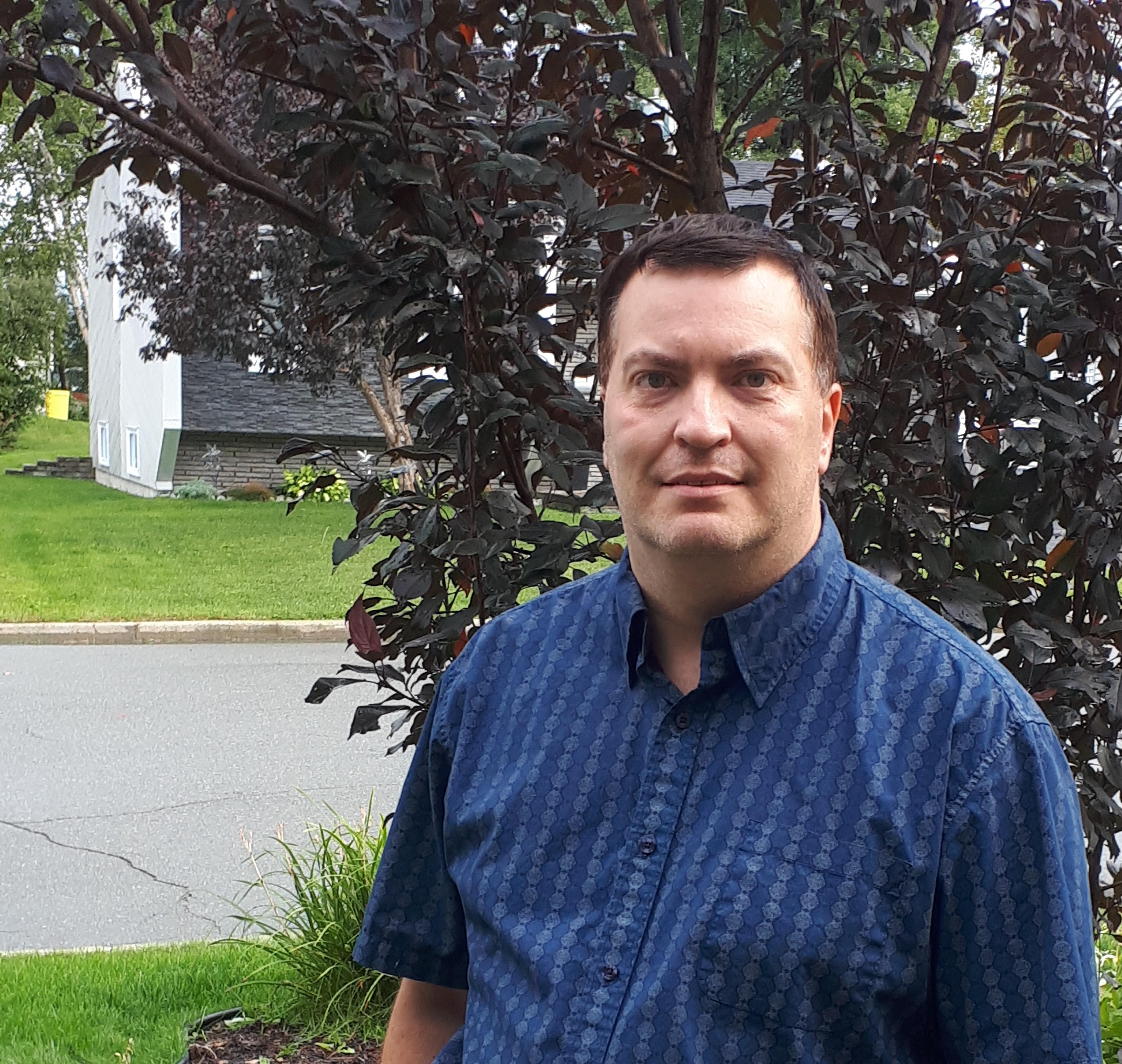 Ian Marcotte candidat municipal Rouyn-Noranda