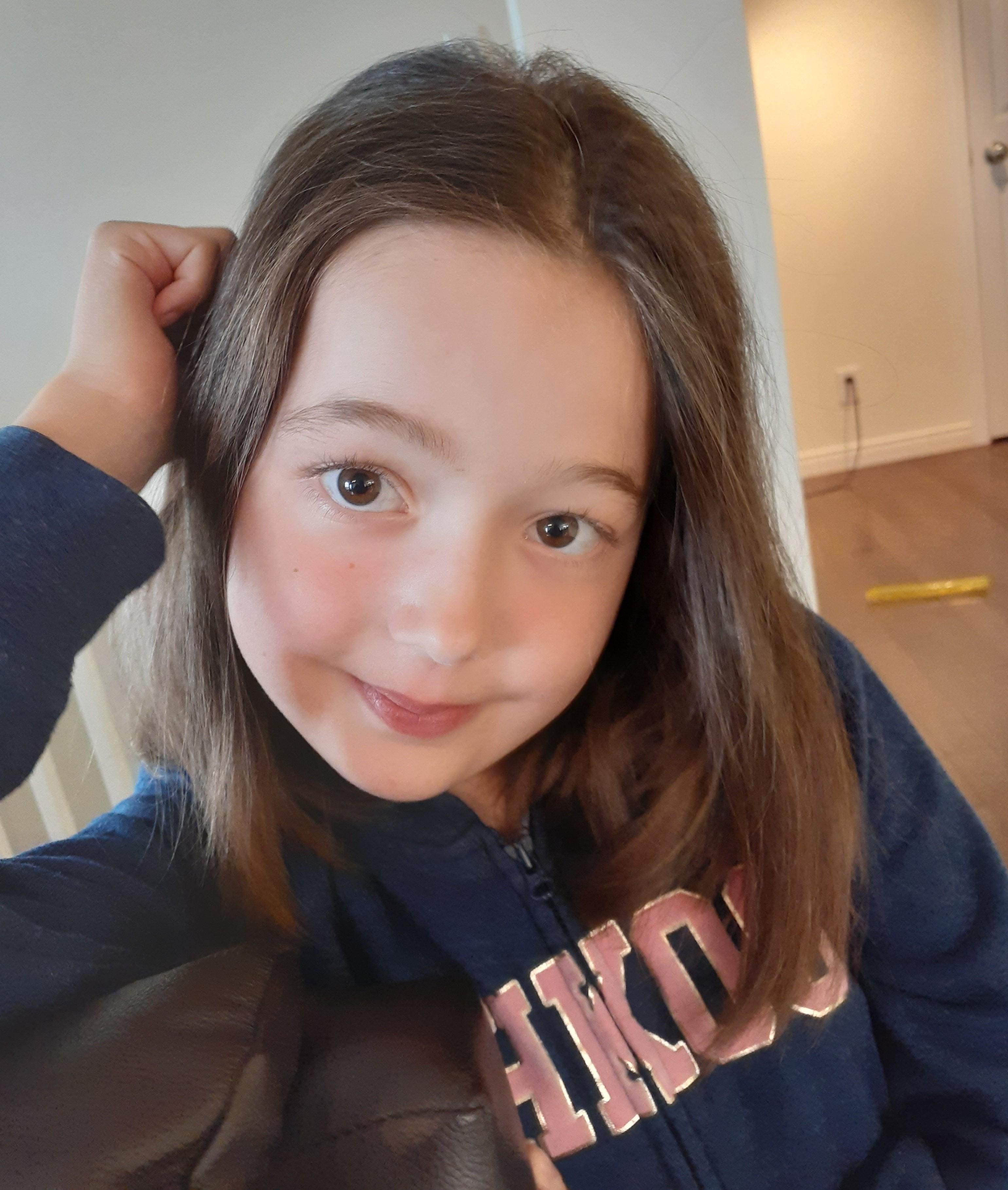 Elianne St-Pierre, de Rimouski, vient de recevoir une greffe cardiaque à Montréal. Ses parents ont séjourné au Manoir Ronald McDonald.