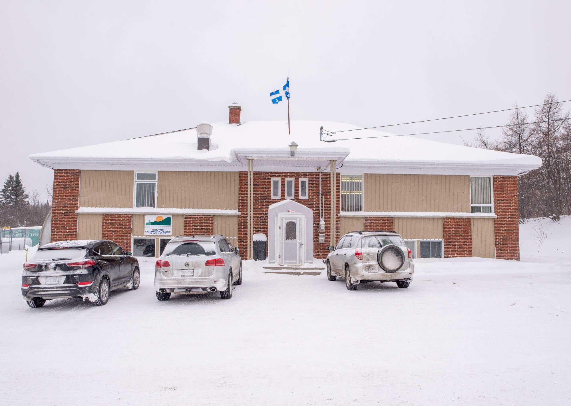 Sainte-Paule édifice municipal centre communautaire