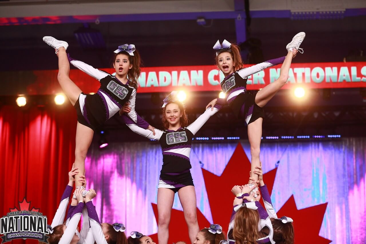 The cheerleading part is gaining significance at Gymnasium Categorical