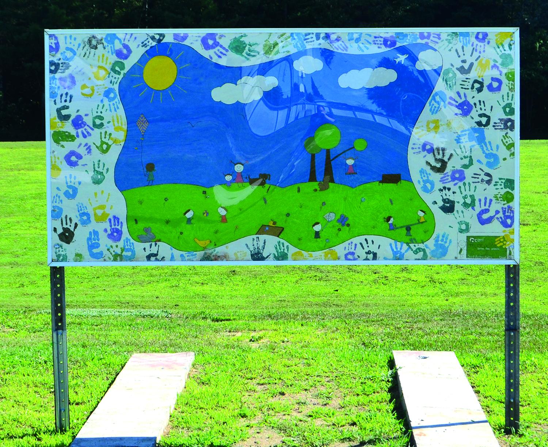 Parc des Générations Murale des enfants