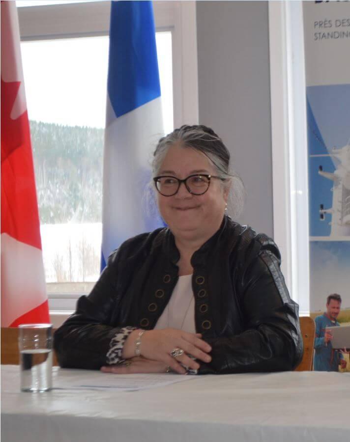 La ministre du Revenu national Diane Lebouthillier