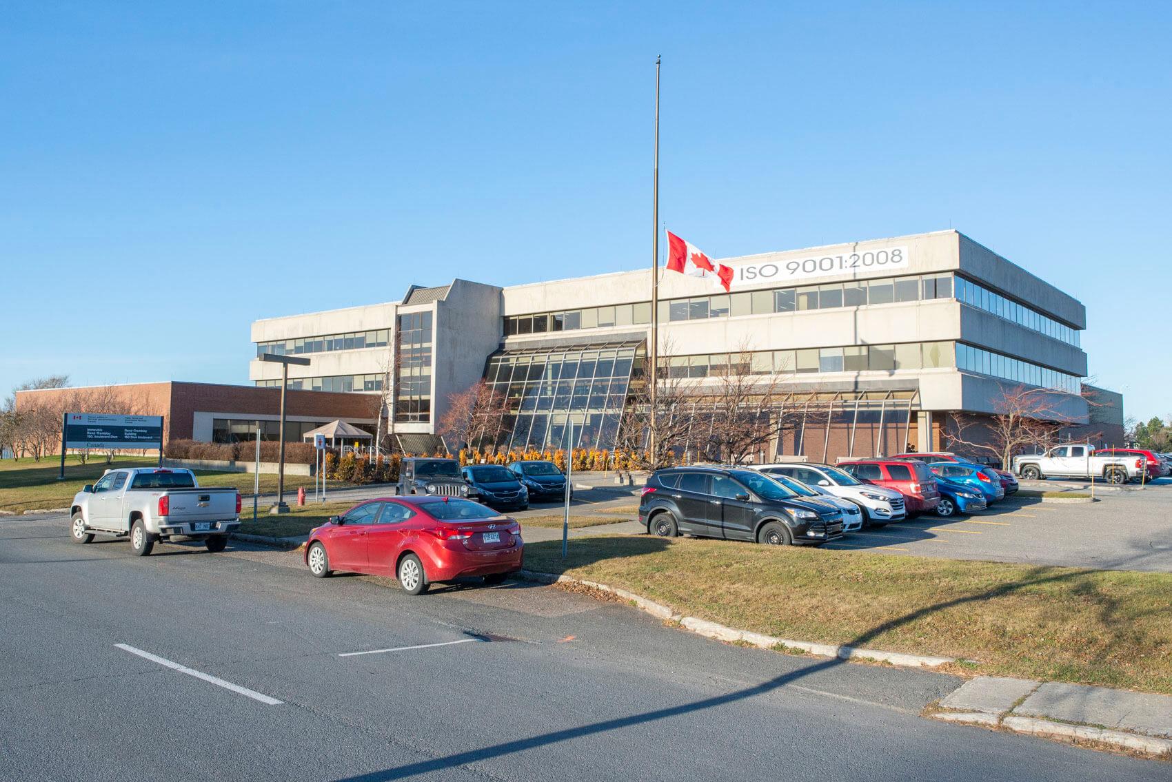 Édifice René-Tremblay Matane Travaux publics et Services gouvernementaux Canada emplois fédéraux