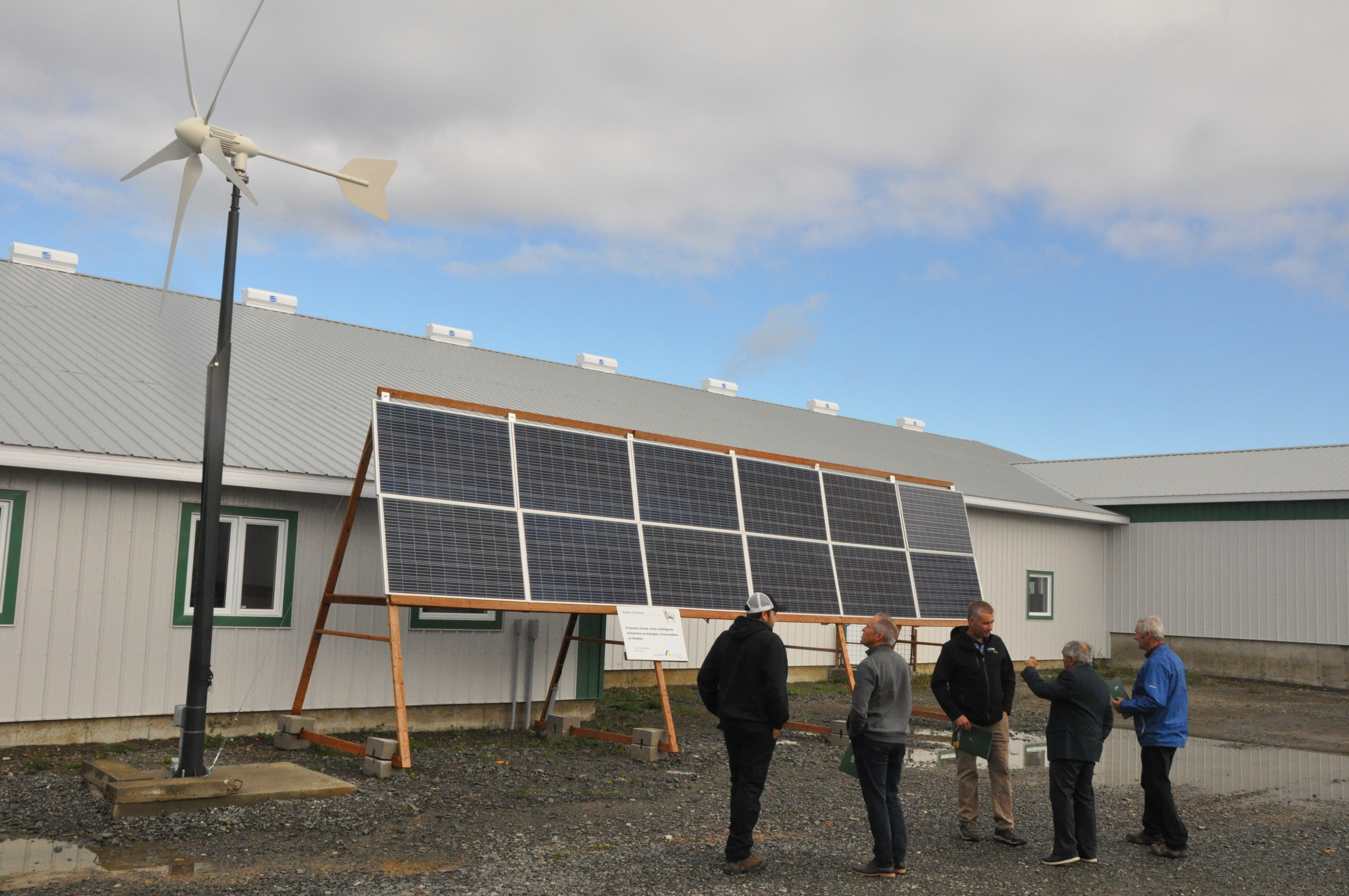 Éolien solaire