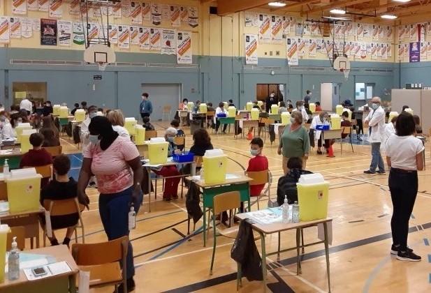 La vaccination des moins de 18 ans se déroule rondement au Bas-Saint-Laurent.