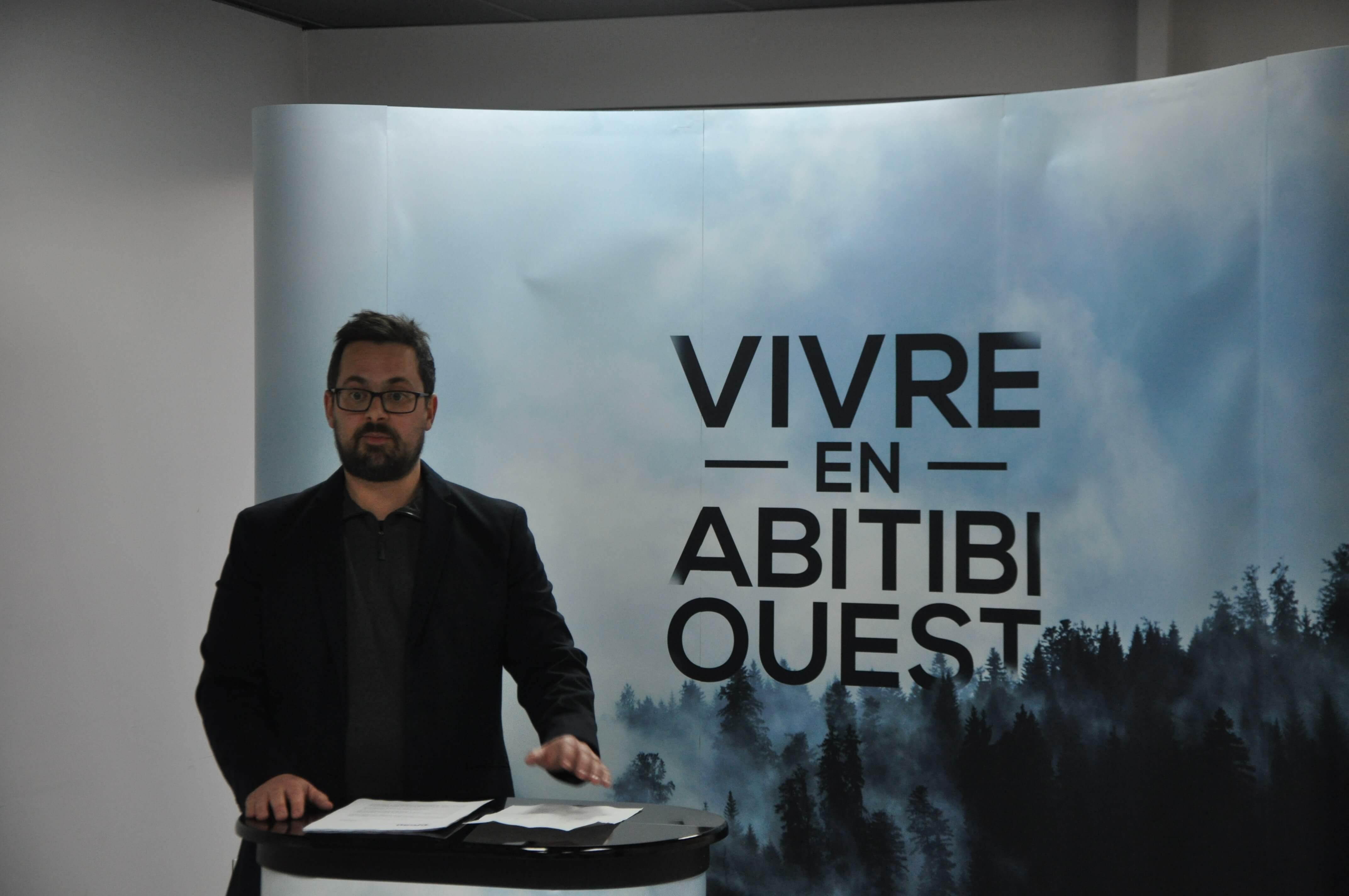 Sébastien Bélisle Vivre en Abitibi-Ouest