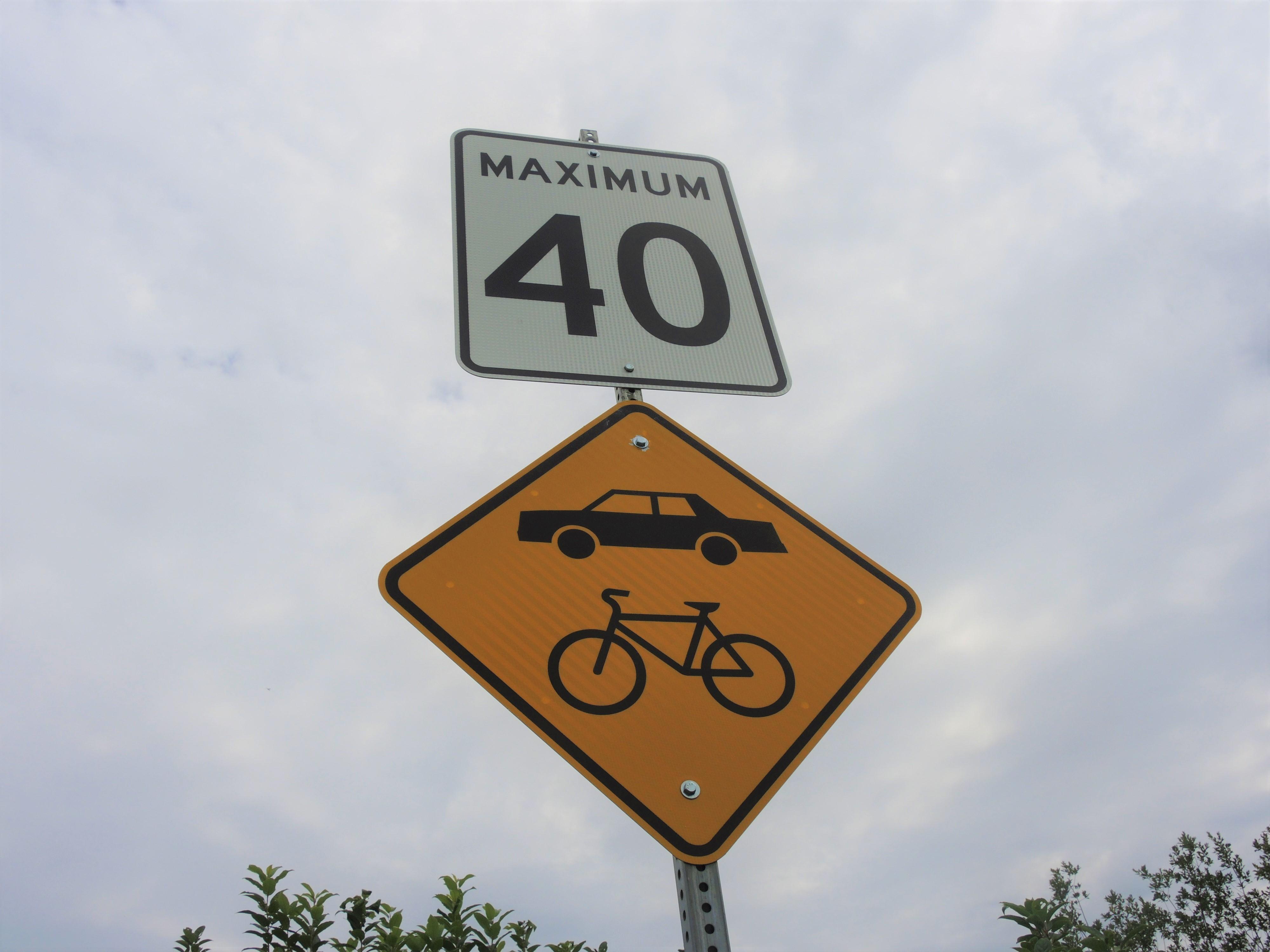 Limite de vitesse 40 km Rouyn-Noranda