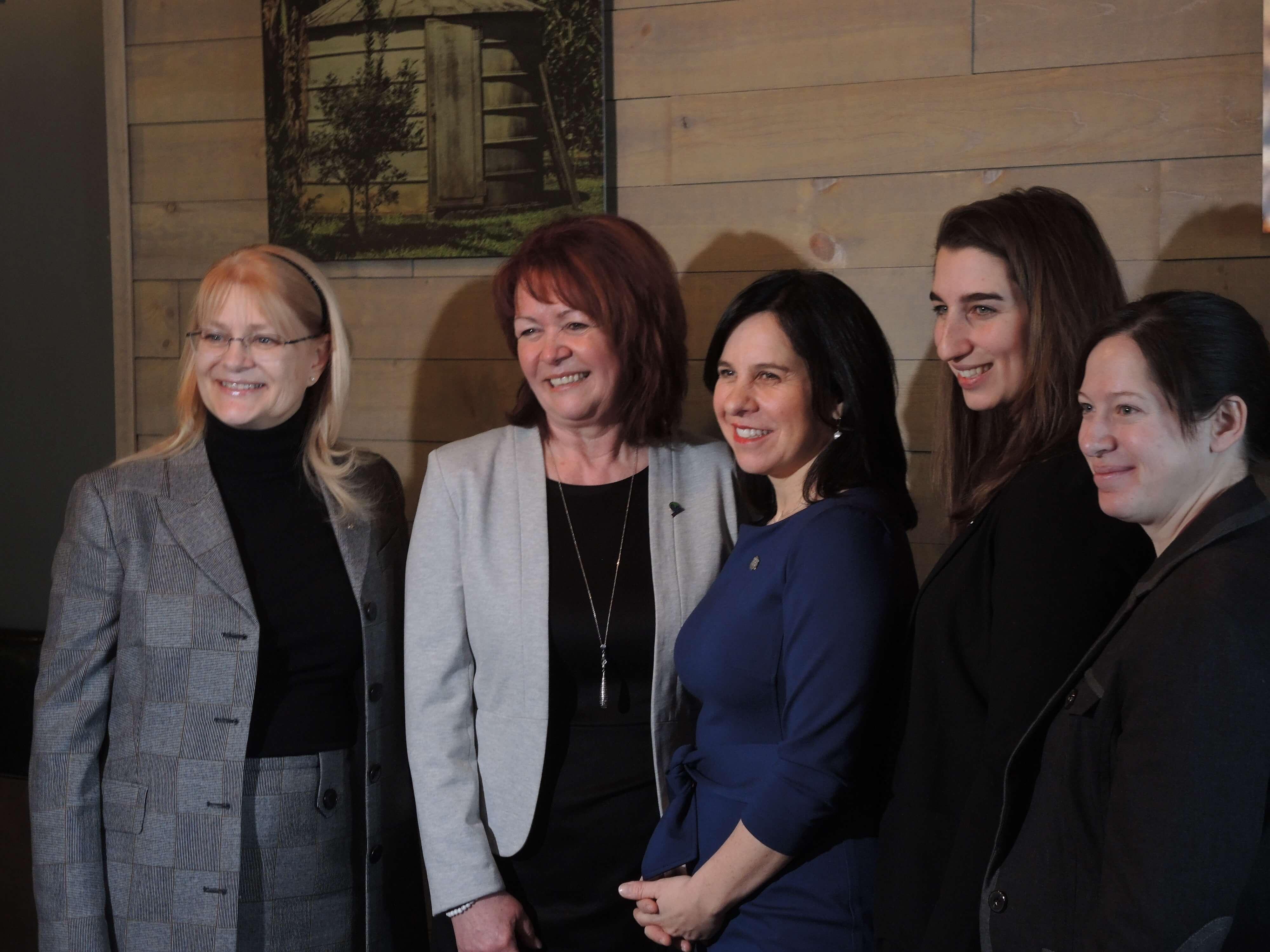 femmes élus Valérie Plante Rouyn-Noranda