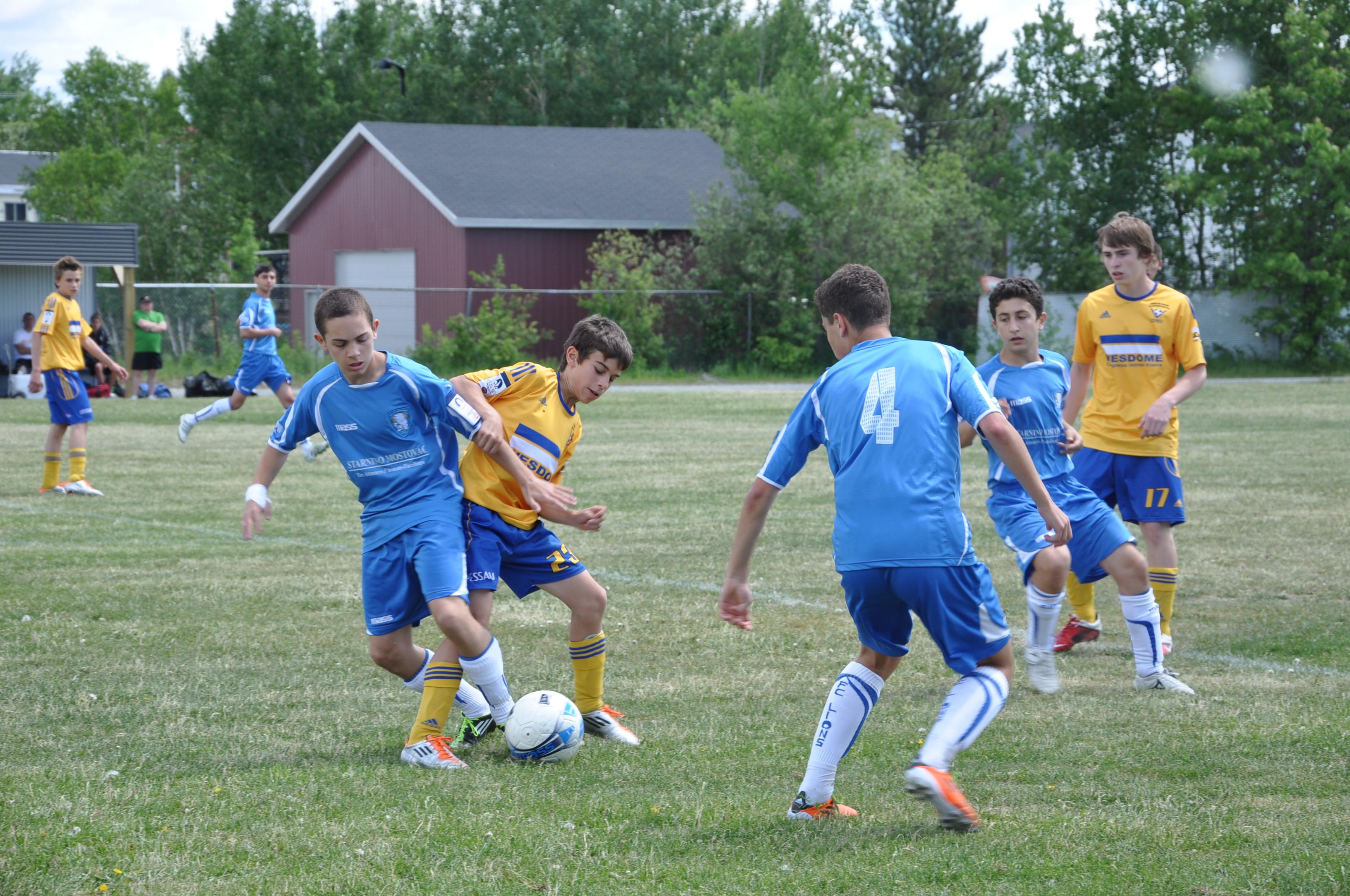 Blizz'Or - Club soccer Vallée-de-l'Or