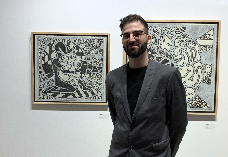 Xavier Labrie présente « Une saison en dehors du temps » une nouvelle exposition à la galerie d'art Léonard-Parent jusqu'au 10 janvier.