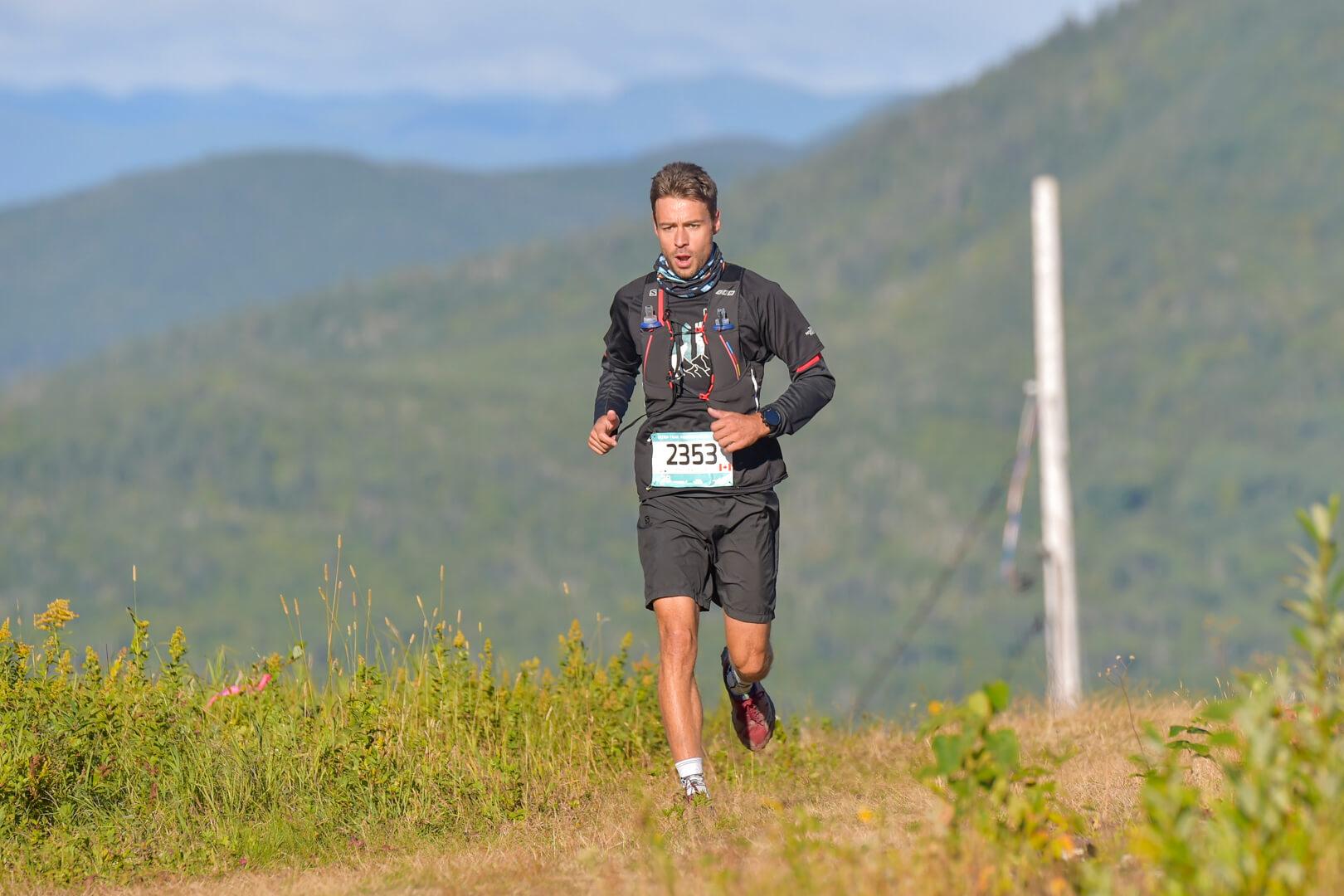 Éric Lévesque professeur éducation physique polyvalente Matane trail course sentiers Charlevoix