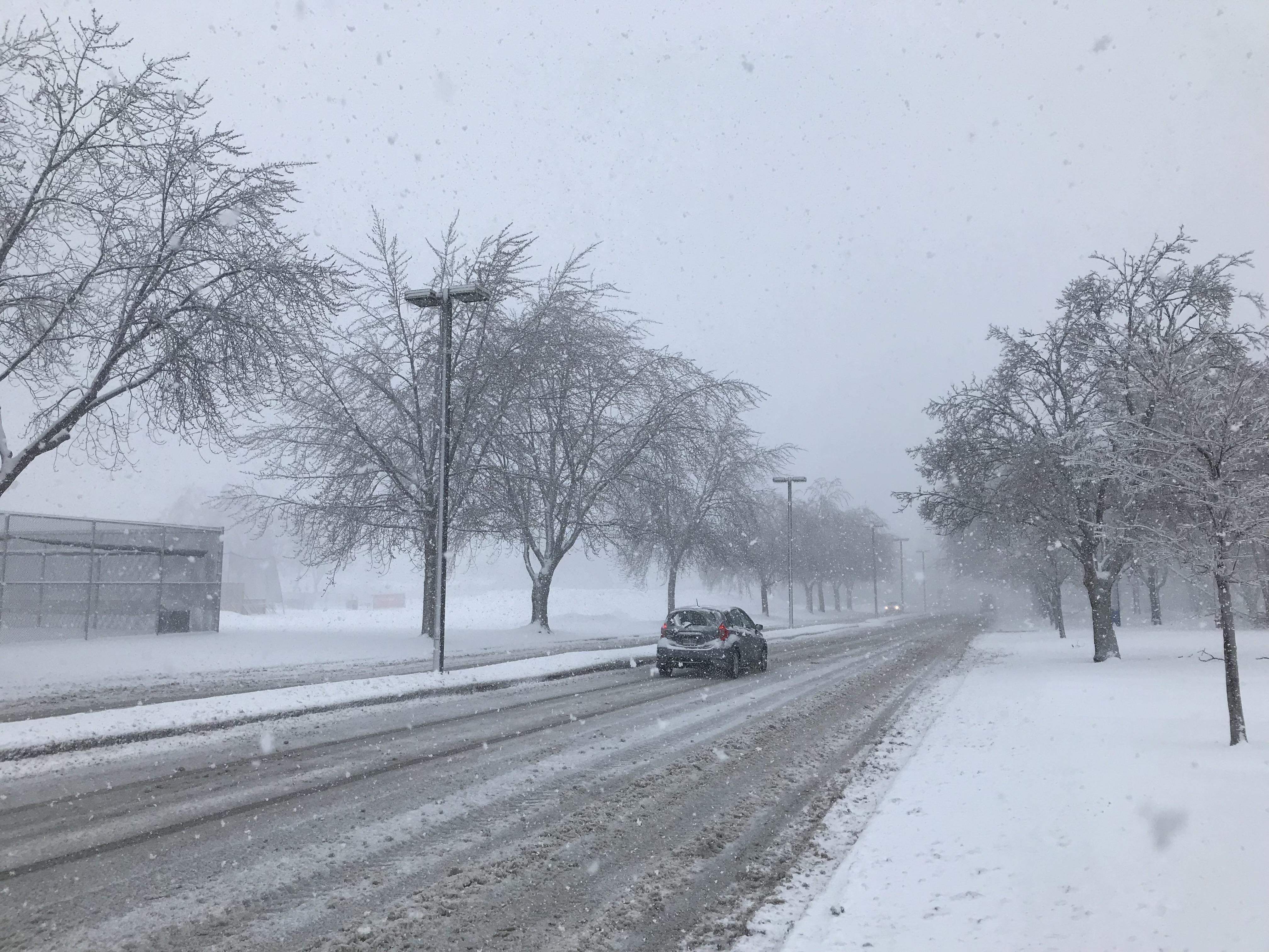 Panne et neige