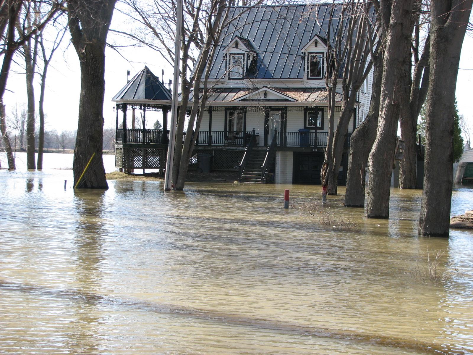 résidence dans l'eau