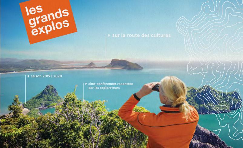 La série de ciné-conférences Les Grands Explorateurs.