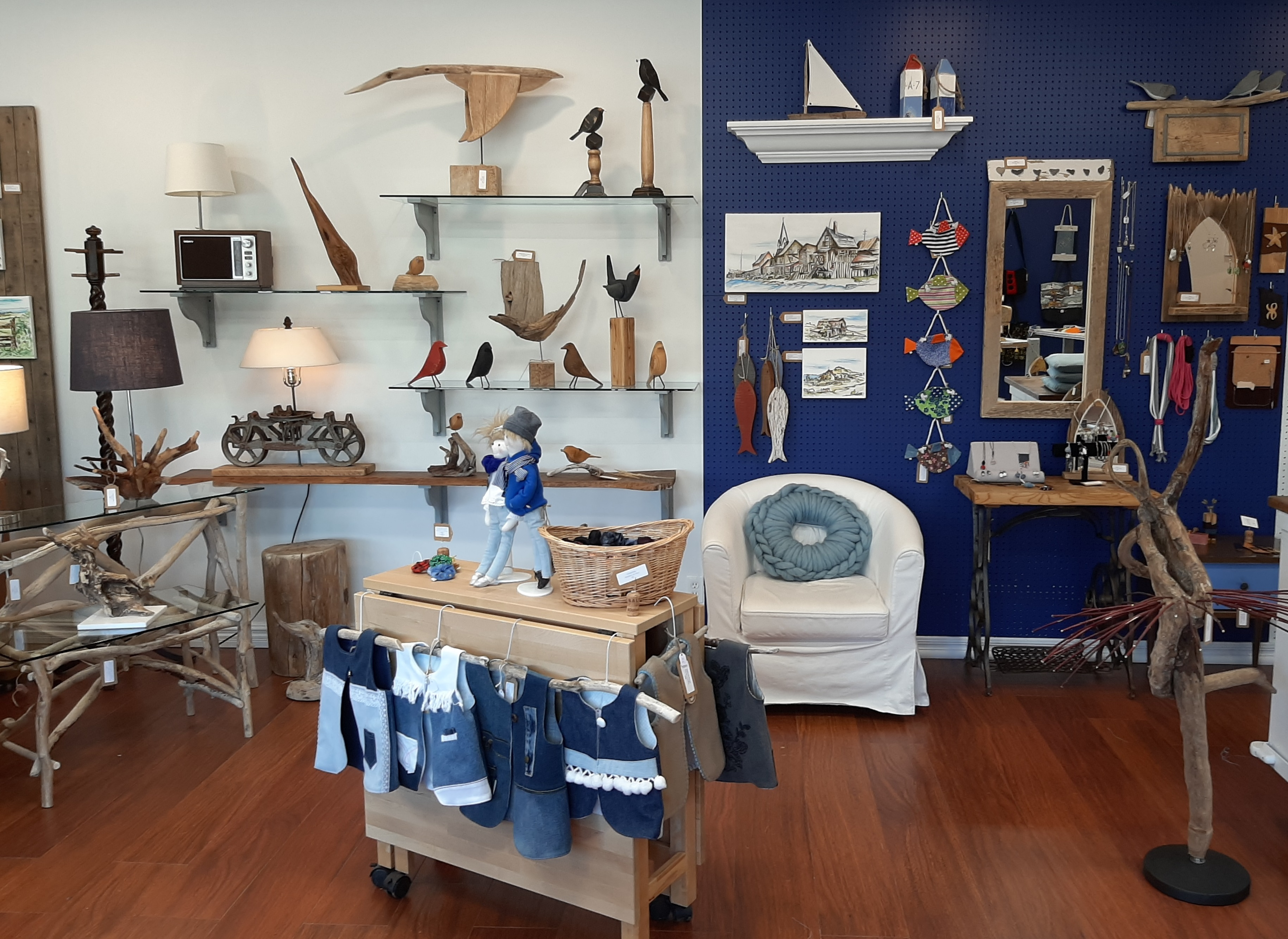 La boutique Ricochets de Rivière-Hâtée accueillera sept créatrices de la région tous les samedis du 7 novembre au 19 décembre.