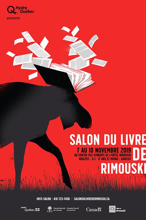L'affiche du Salon du livre 2019 a été réalisée par l'illustrateur matanais, Sébastien Thibault.