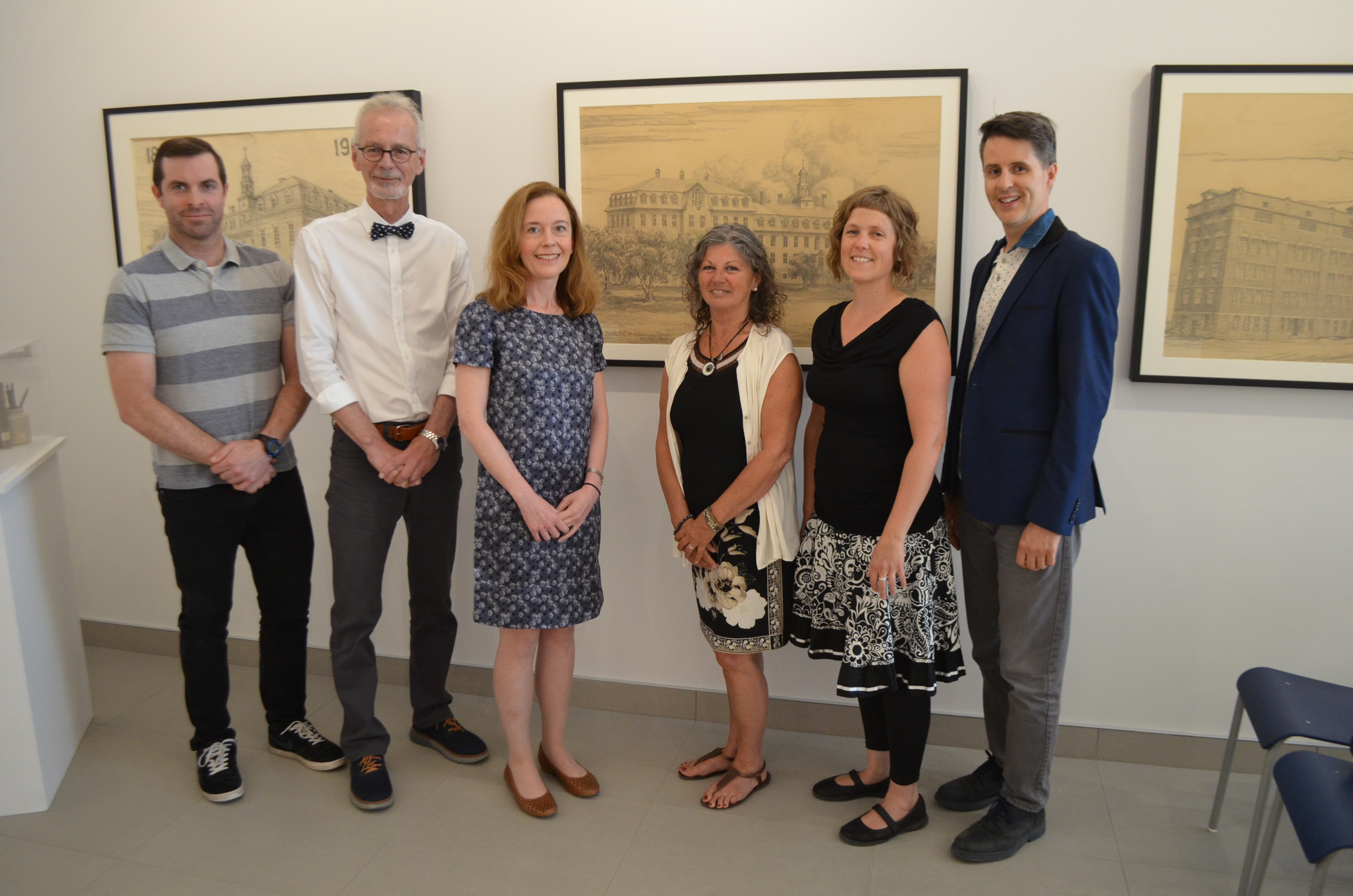 Lancement de l'exposition « Quand Léonard-Parent rencontre Basque »
