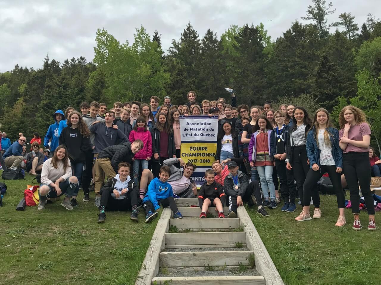 Les Dauphins sont champions de l'Est-du-Québec pour la 9e année consécutive
