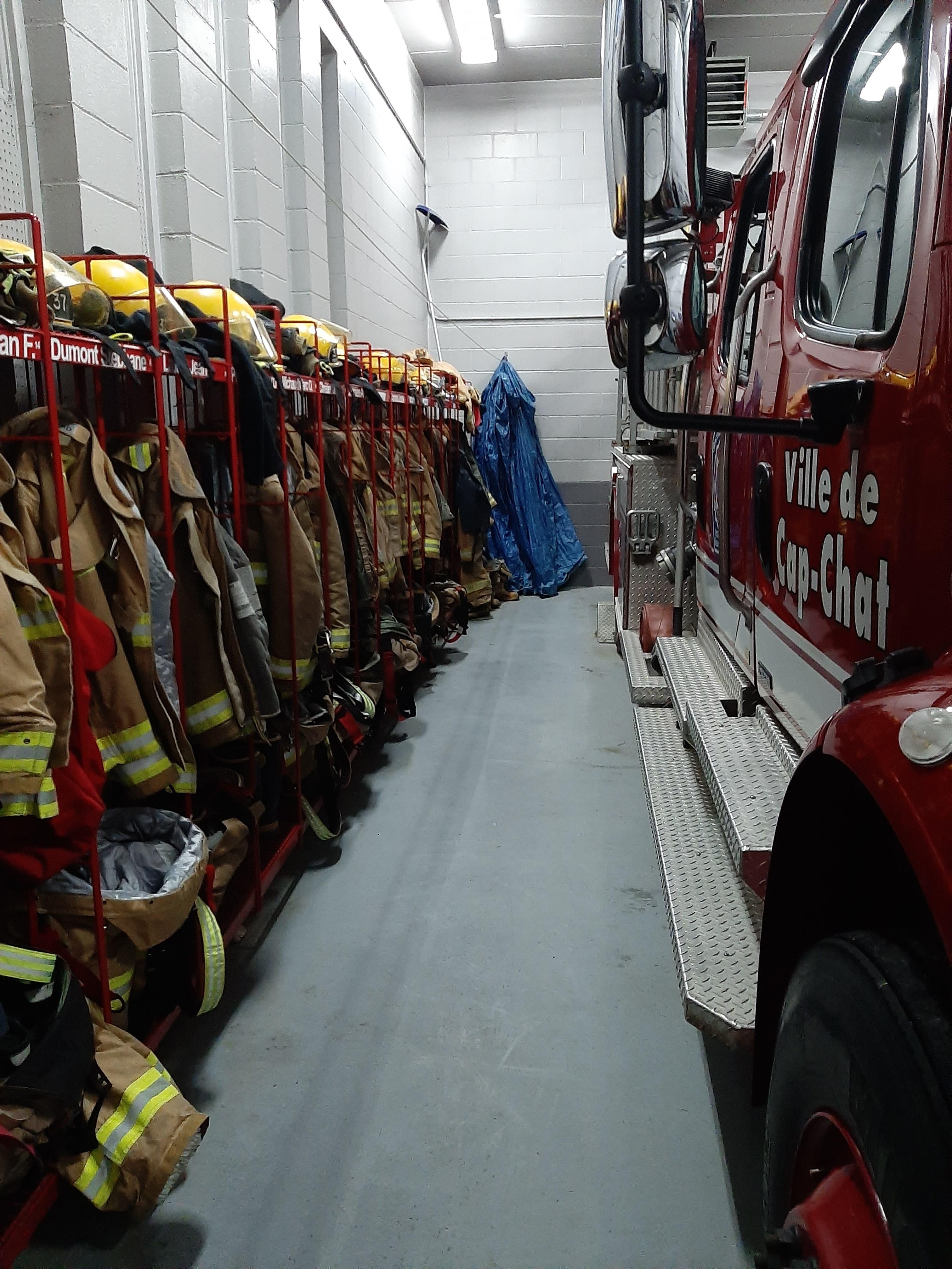 Pompiers Cap-Chat