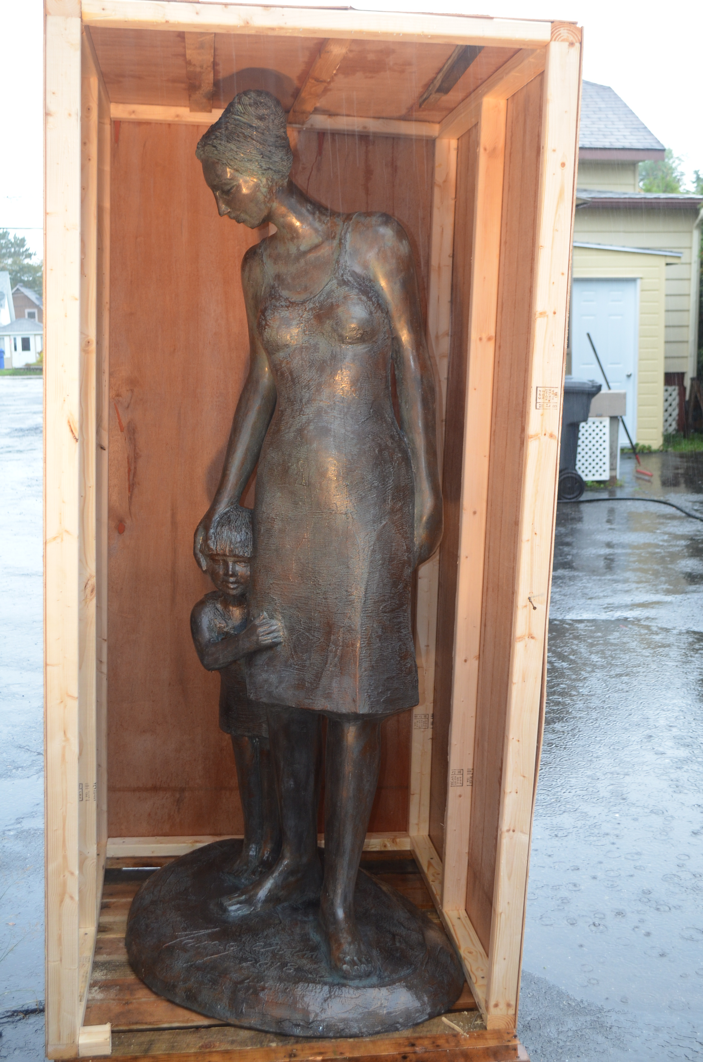 La récente création « Lien mère-fille » prendra bientôt la route de San Francisco dans l'état de Californie.