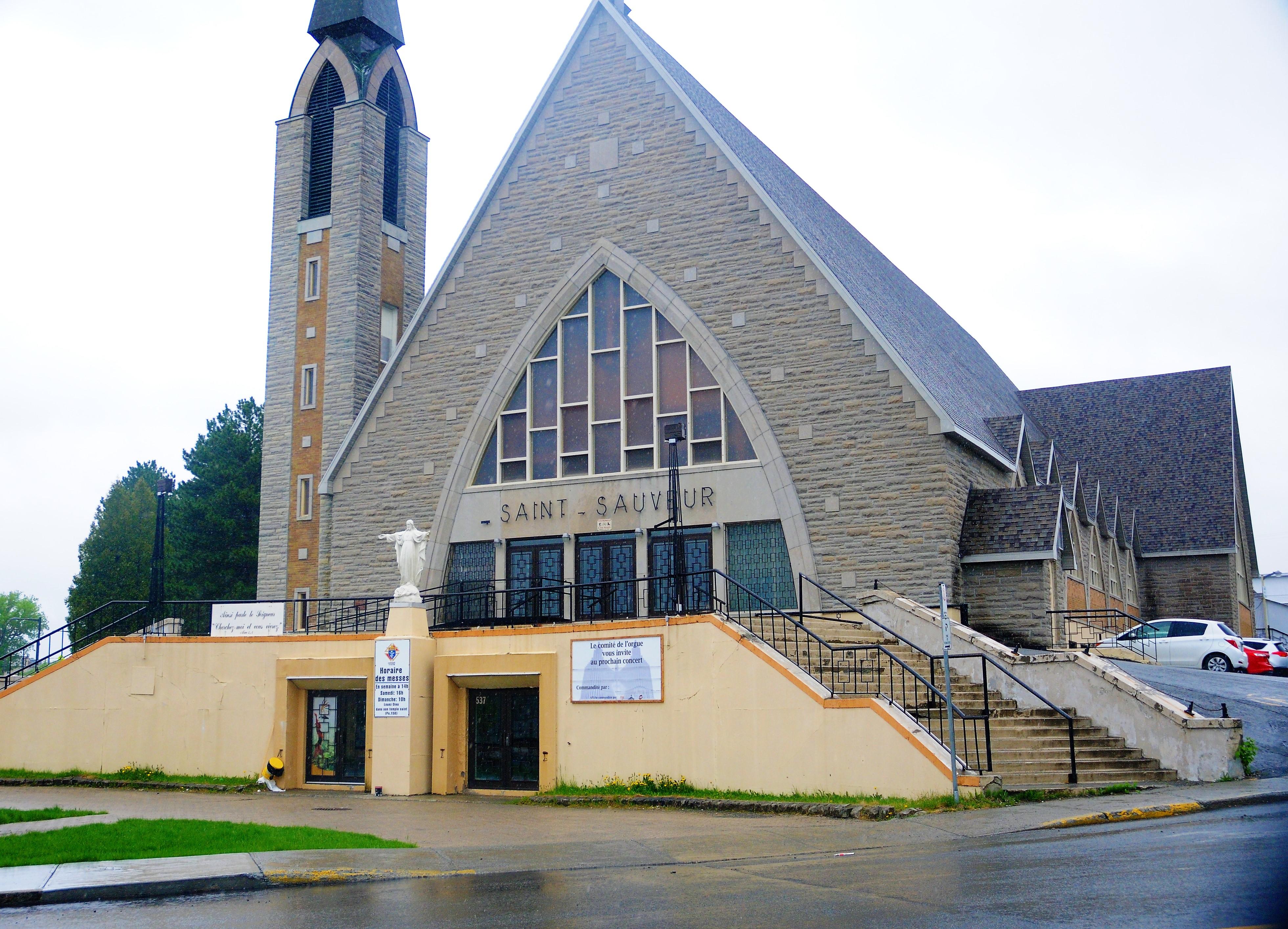 Église Saint-Sauveur - Val-d'Or