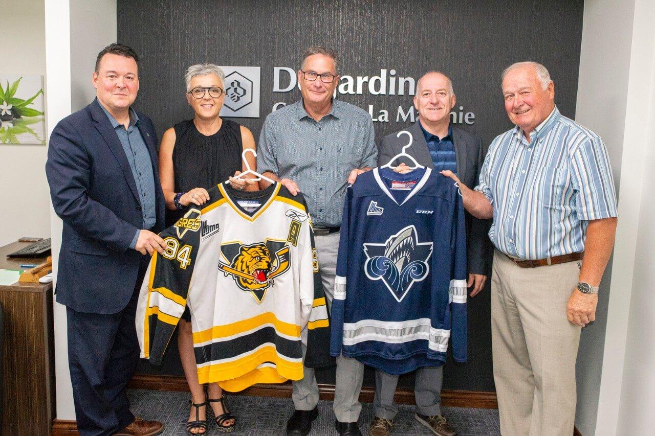 Deux ligues de hockey prestigieuses en visite à Matane à la rentrée pour deux matchs au Colisée