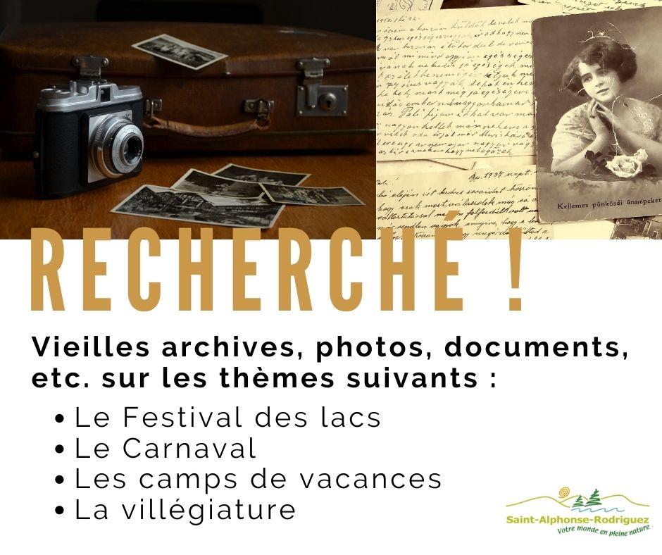 Archives recherchées
