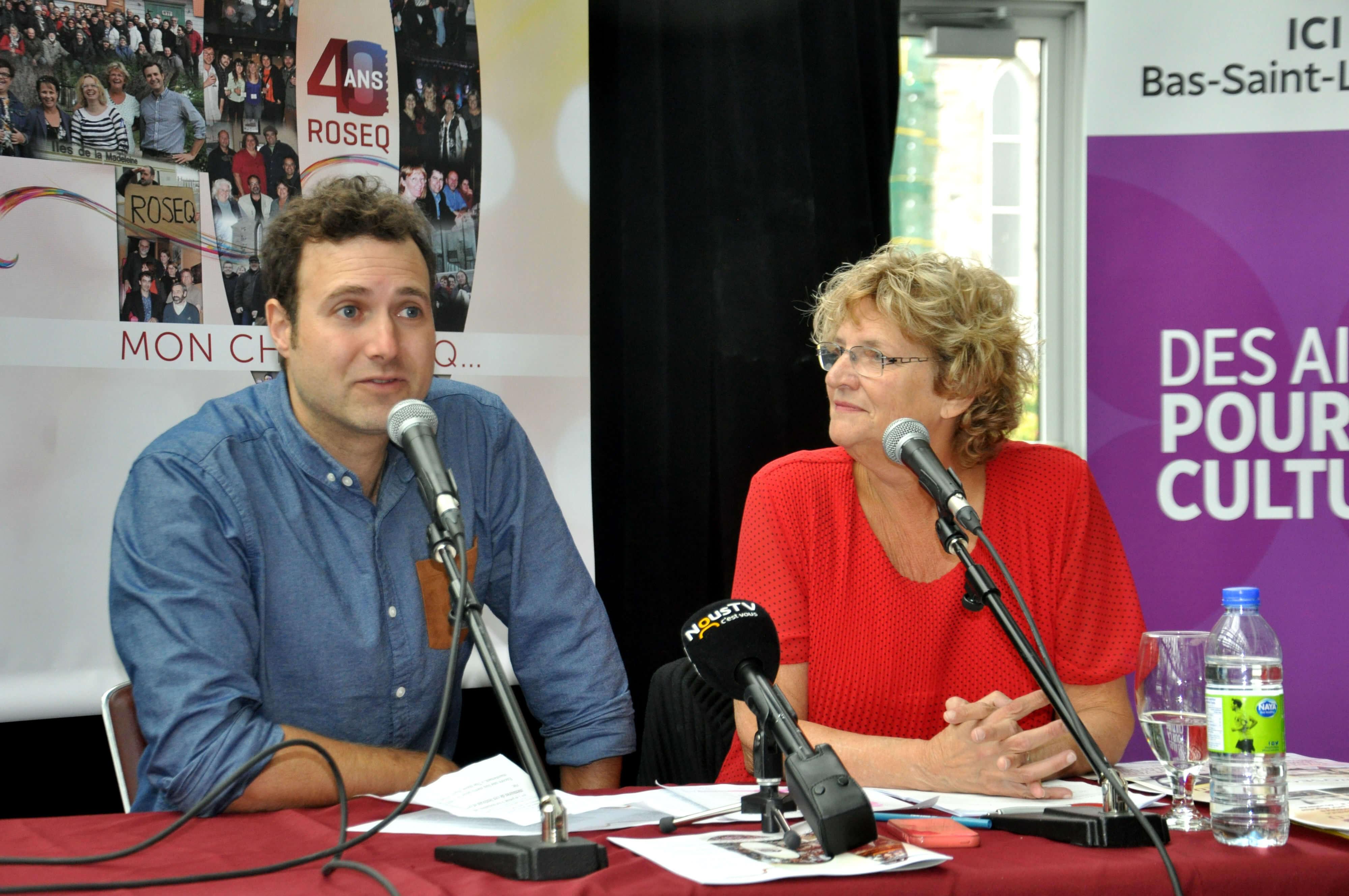 Frédéric Lagacé et Solange Morrissette