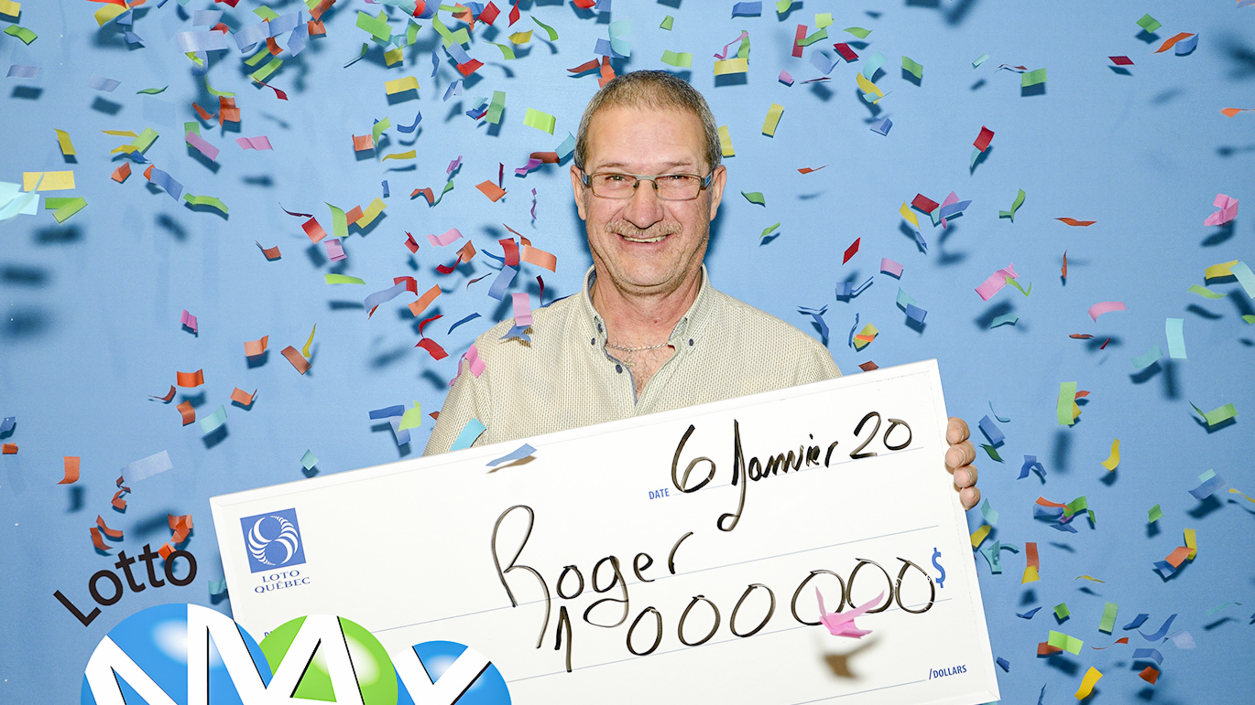 Roger Barriault Lotto Max Matane
