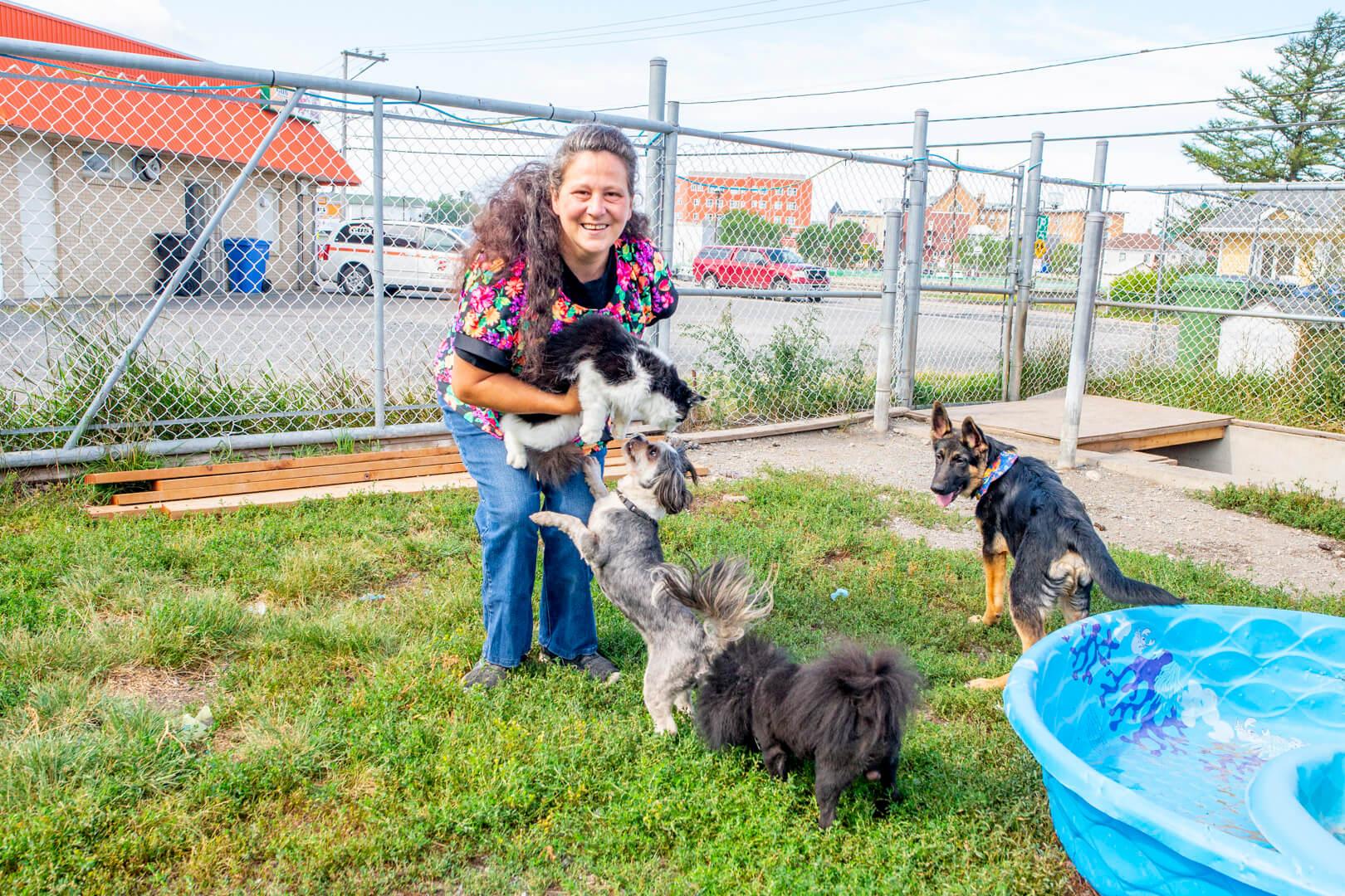 Karine Fortin refuge animaux Matane