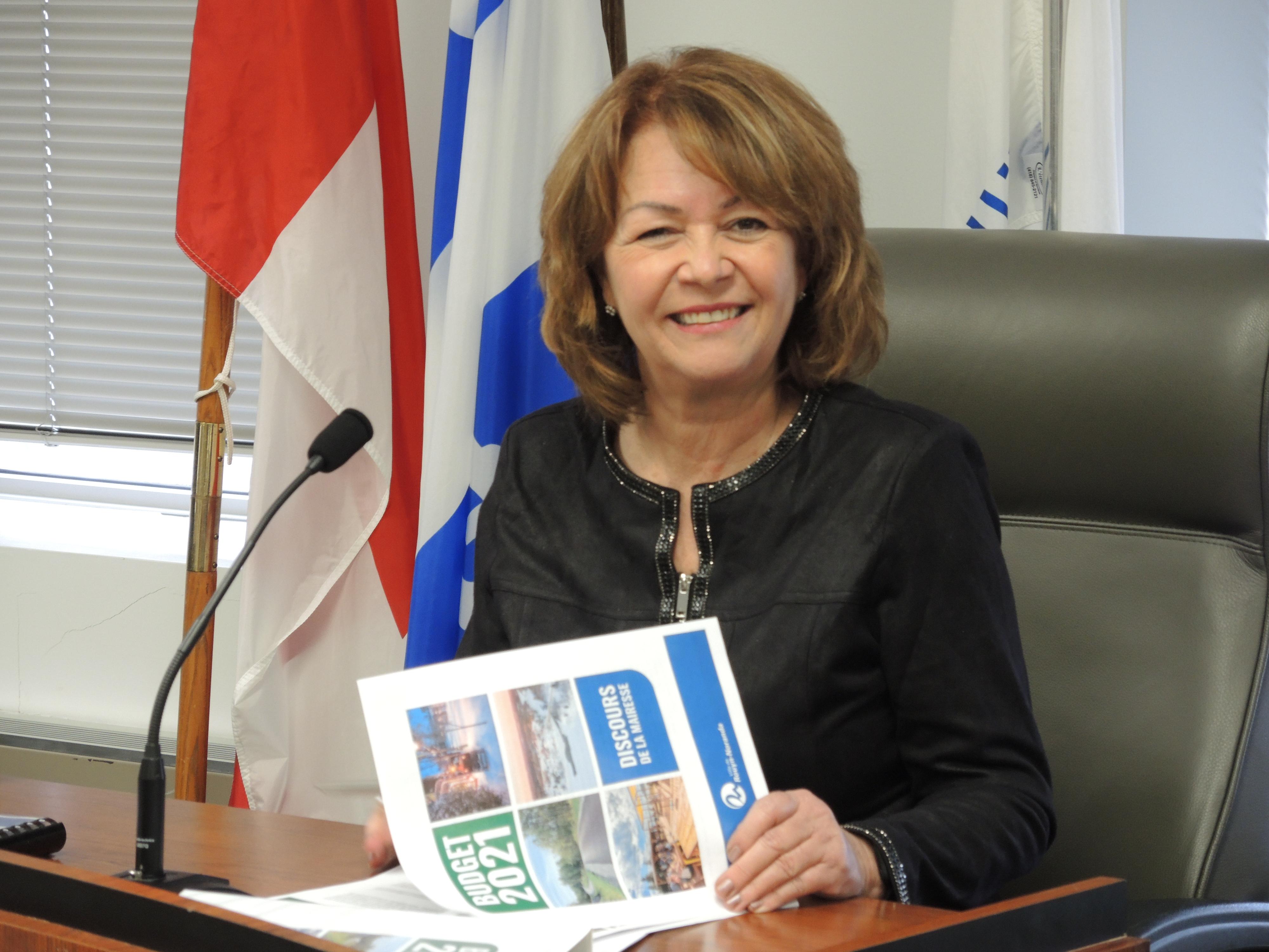 Diane Dallaire mairesse Rouyn-Noranda Budget 2021