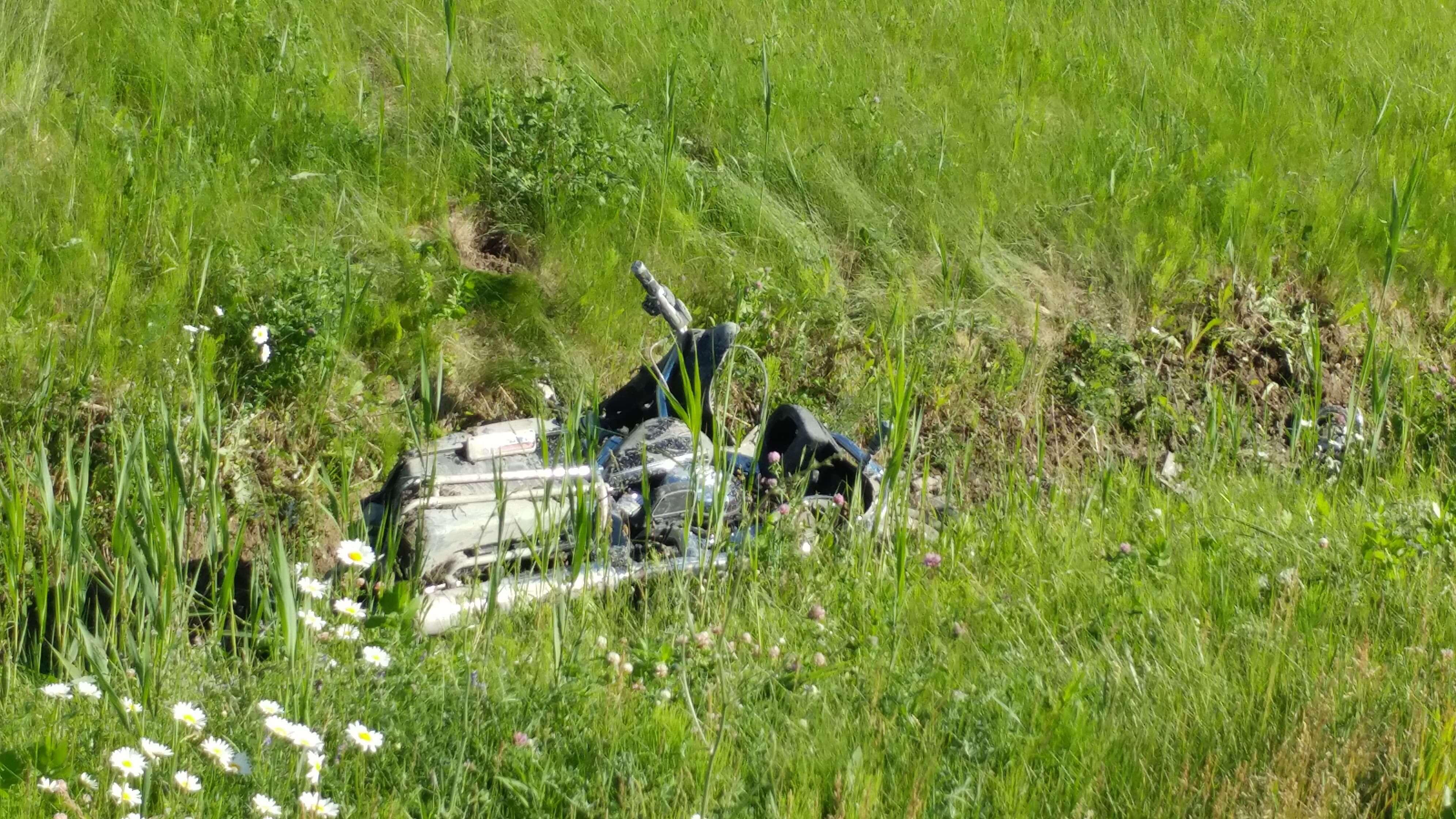 Un motocyliste de 60 ans de Joliette a perdu la vie le 15 juin 2018 à Saint-Lin-Laurentides.