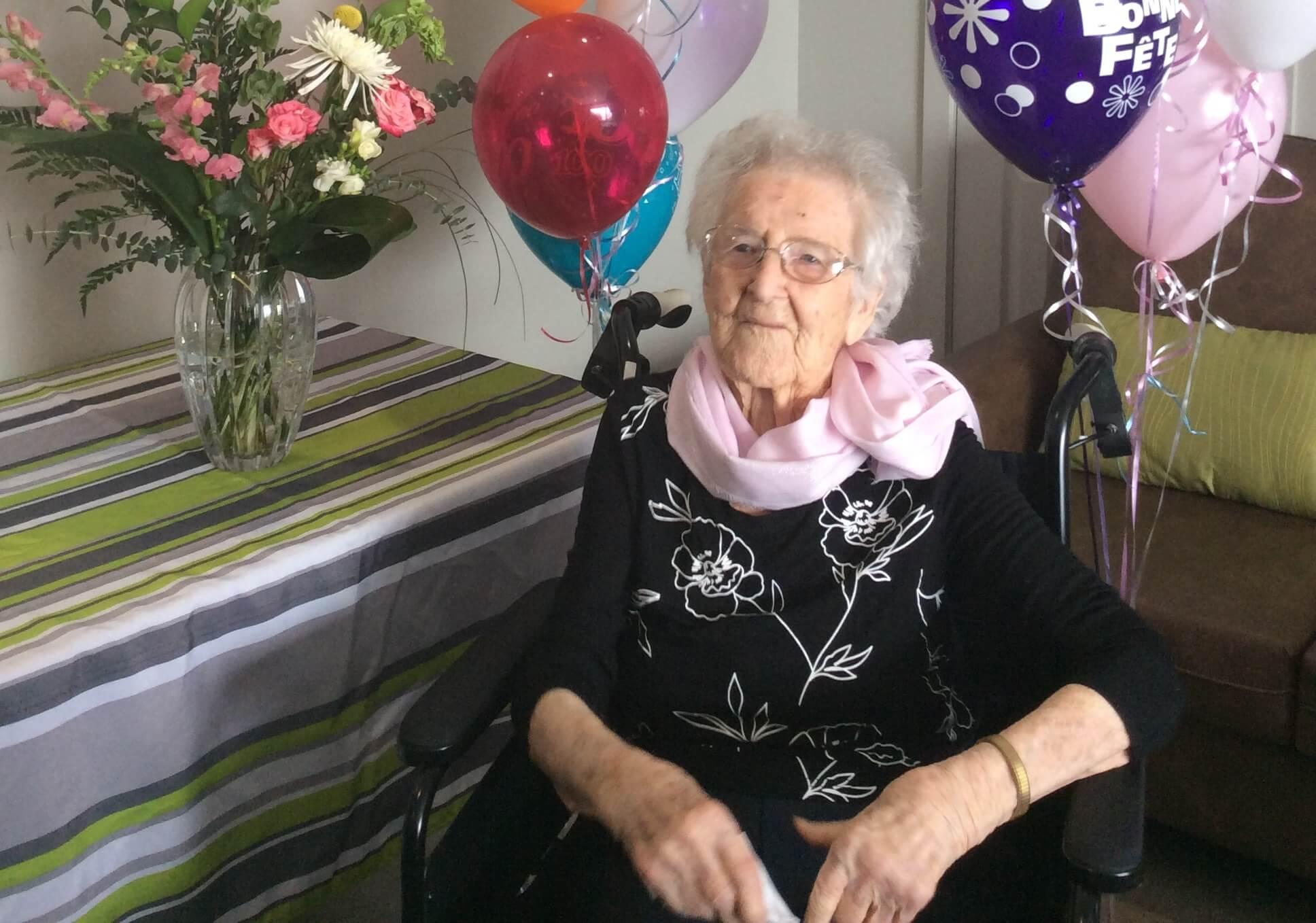100 ans Simone Guité