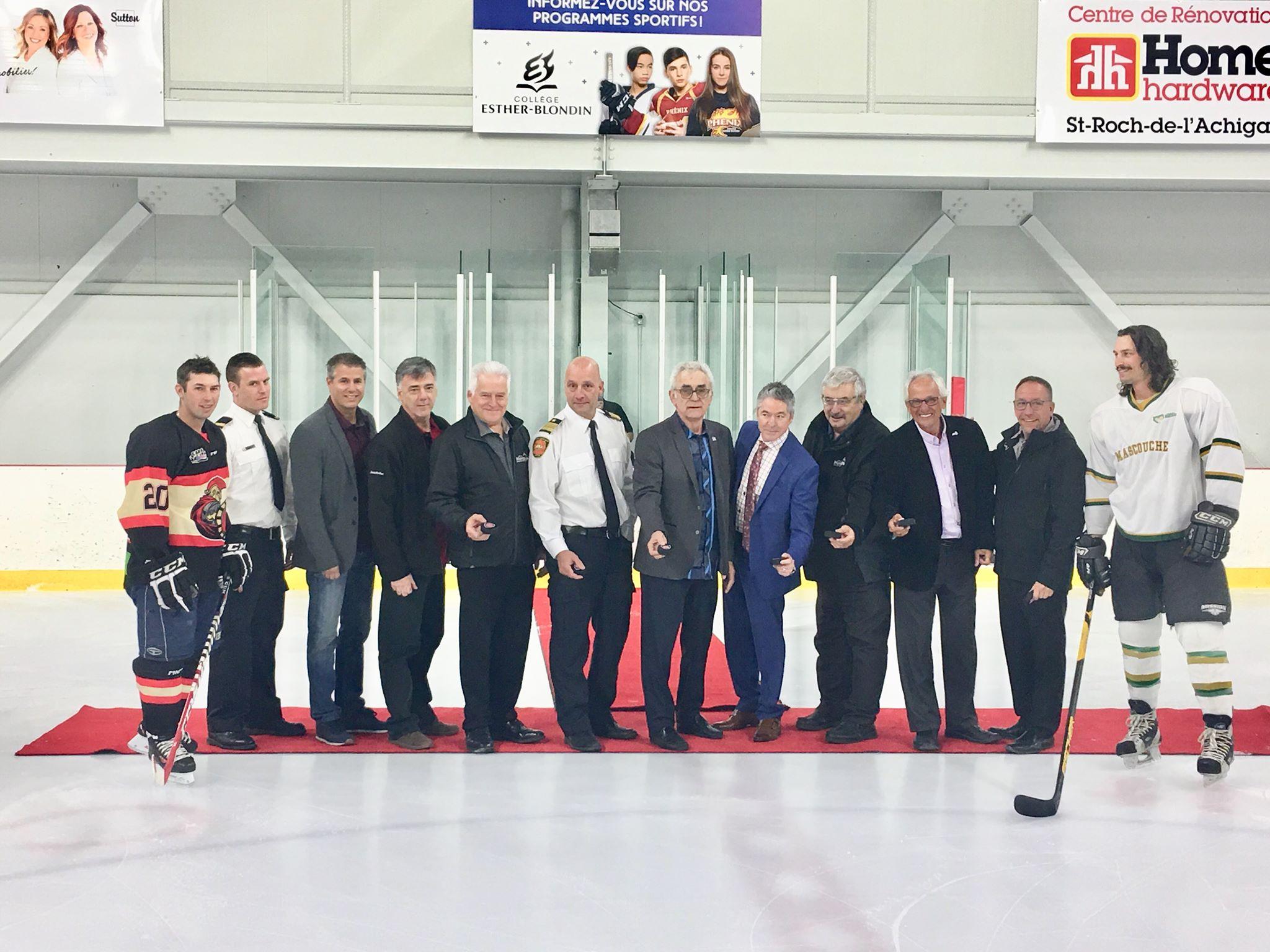 Tournoi hockey Fondation des pompiers du Québec pour les grands brûlés