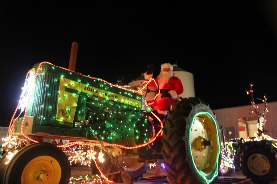 Parade tracteur