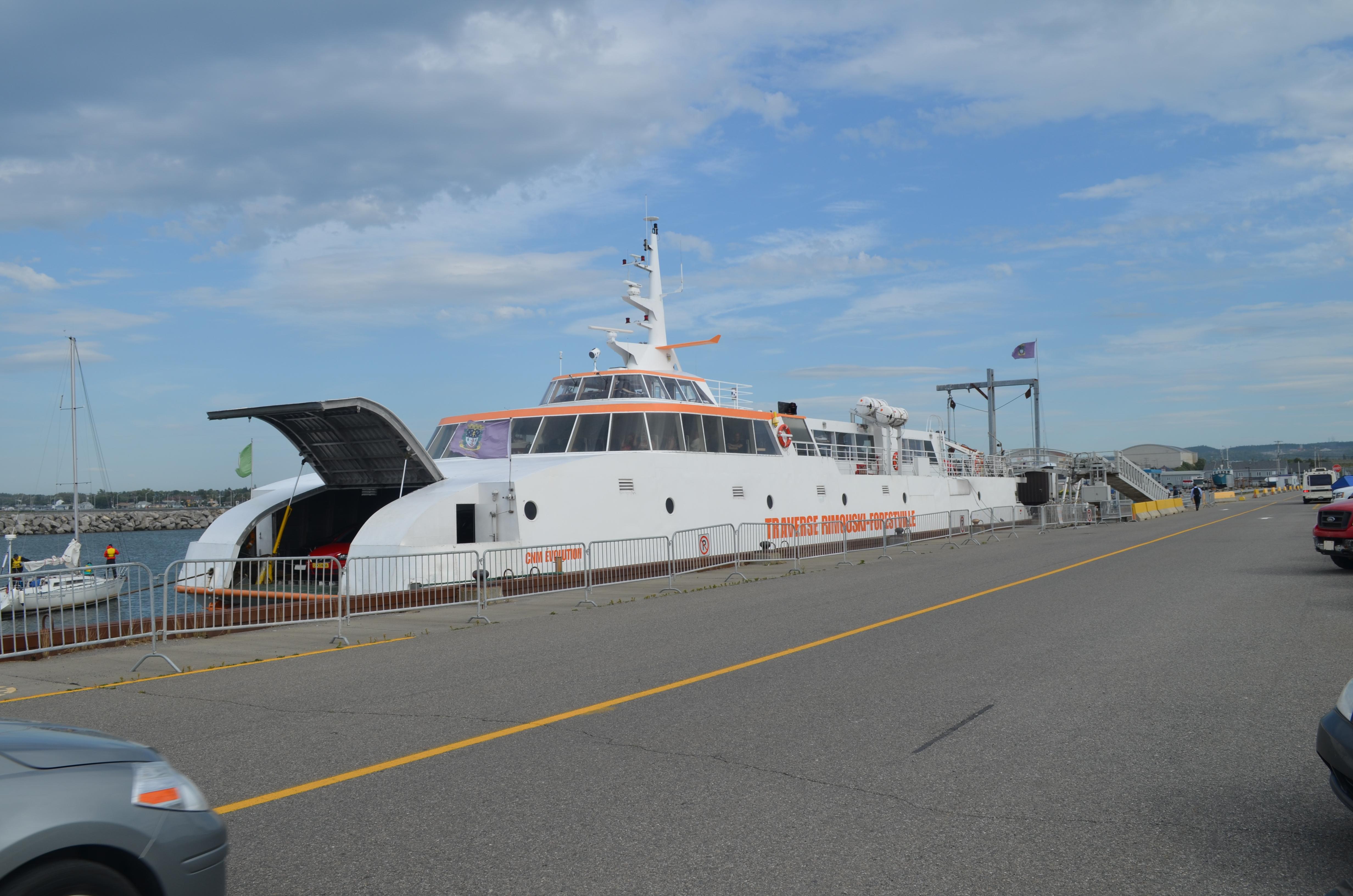 Le catamaran CNM Évolution