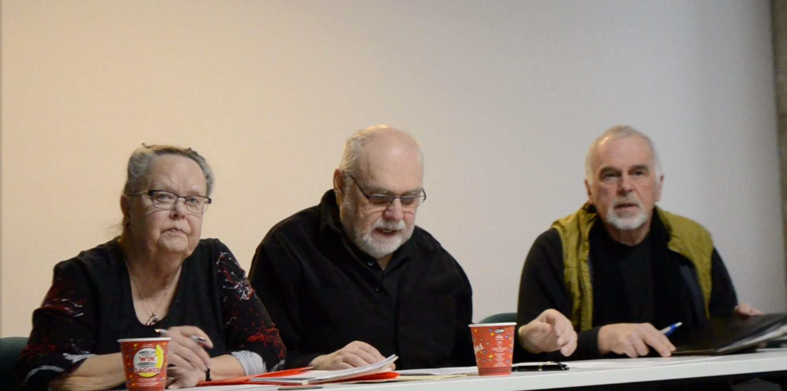 Salon du livre de Rimouski - AGA 2018.