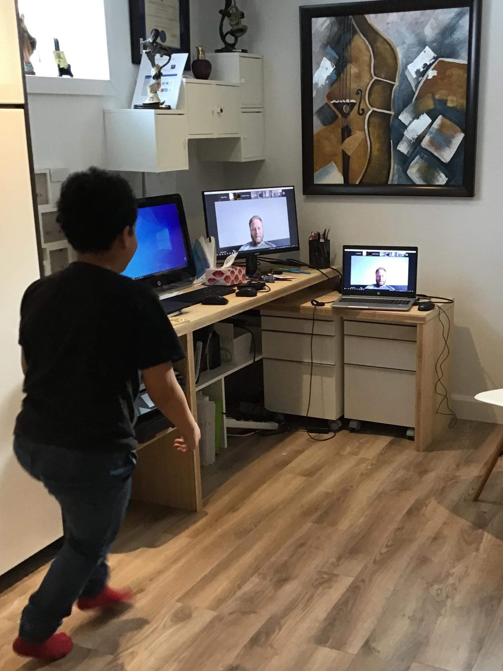 entrainement virtuel