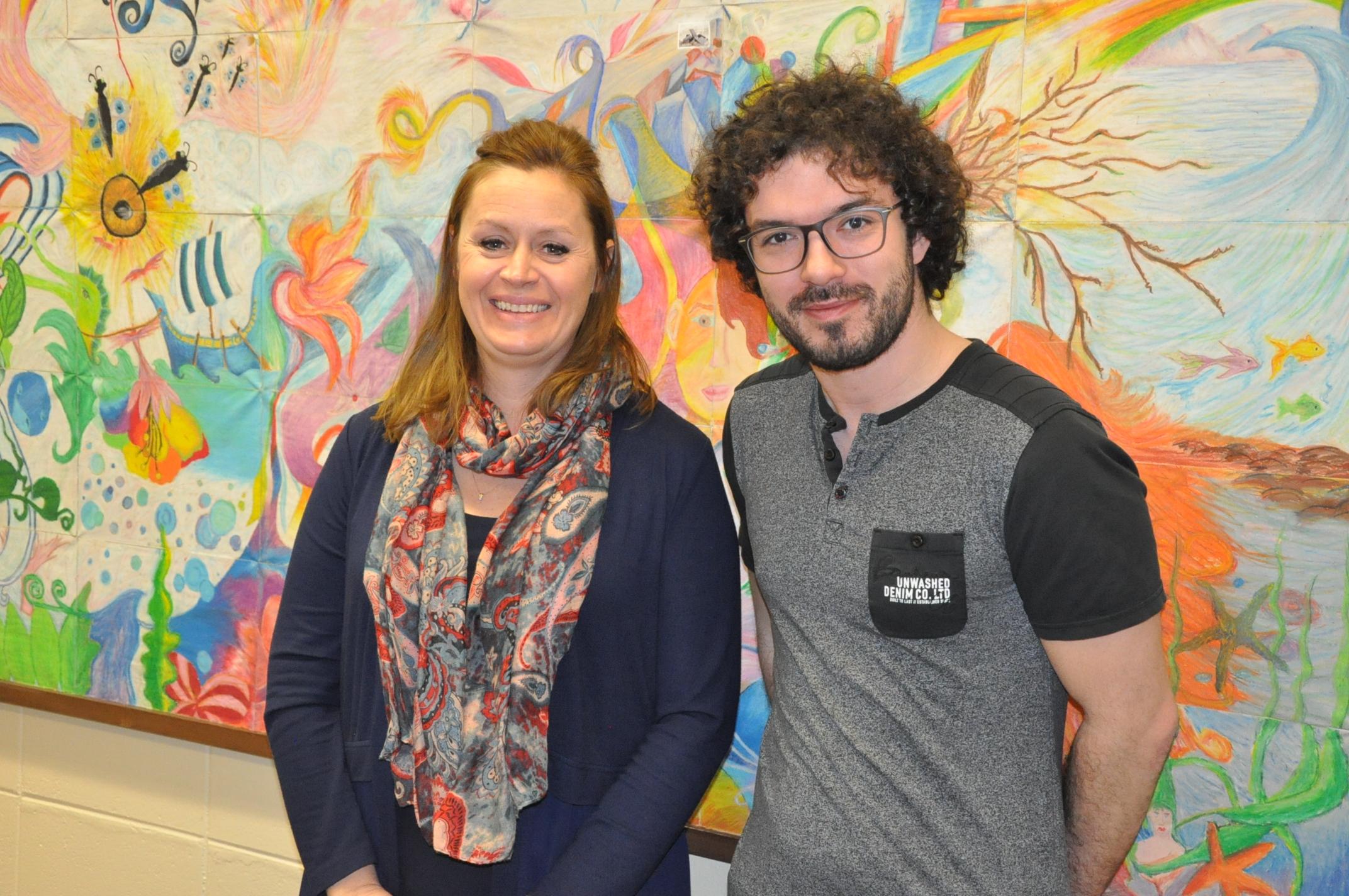 Isabelle Landry et Jérôme Auclair